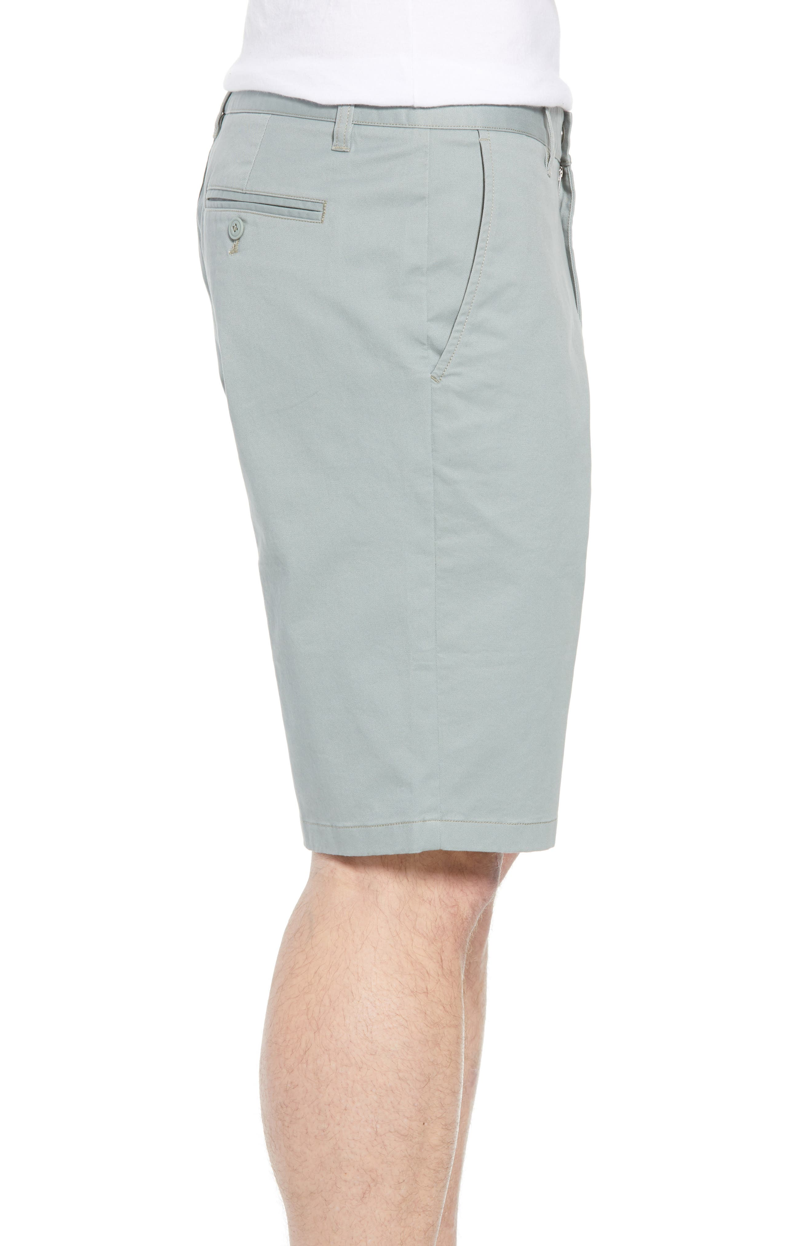 Stretch Washed Chino 11-Inch Shorts,                             Alternate thumbnail 46, color,