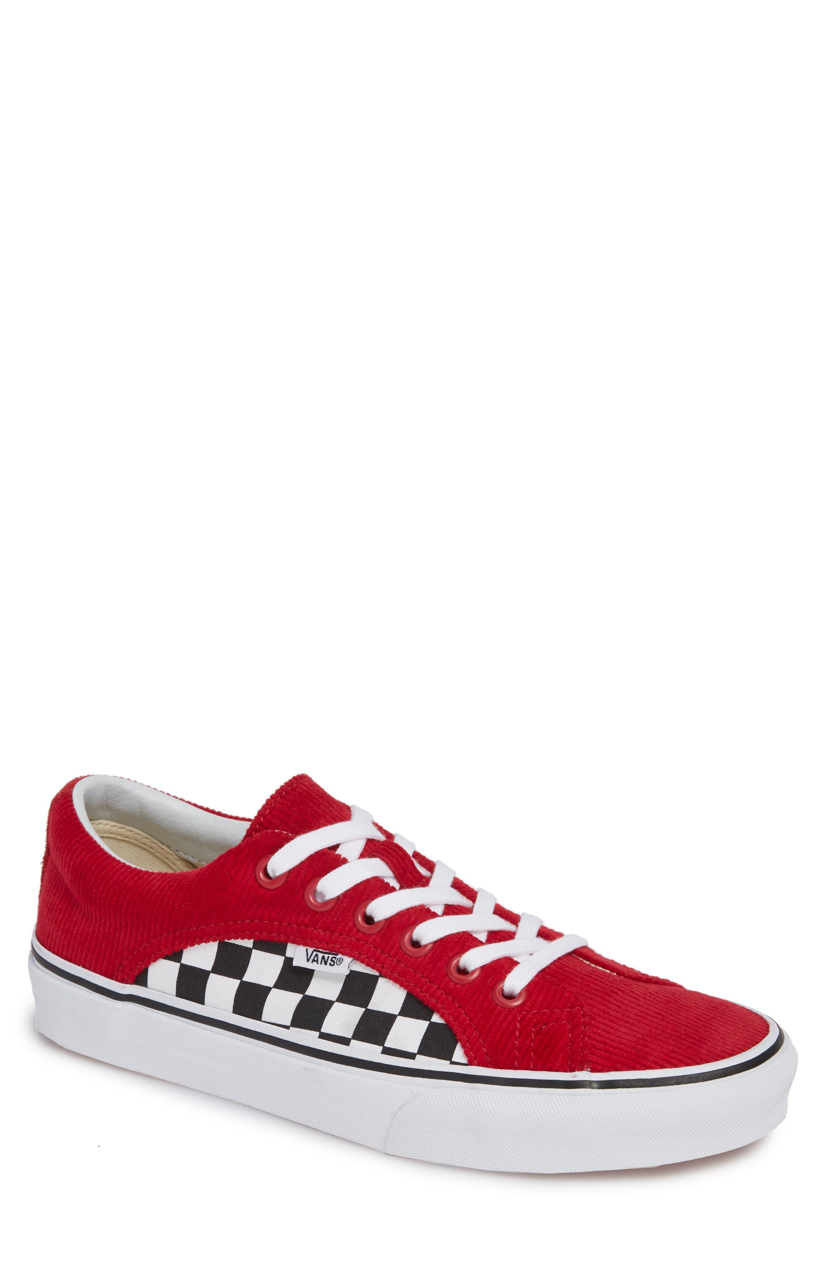 Lampin Corduroy Sneaker,                         Main,                         color, SCOOTER/ TRUE WHITE CANVAS