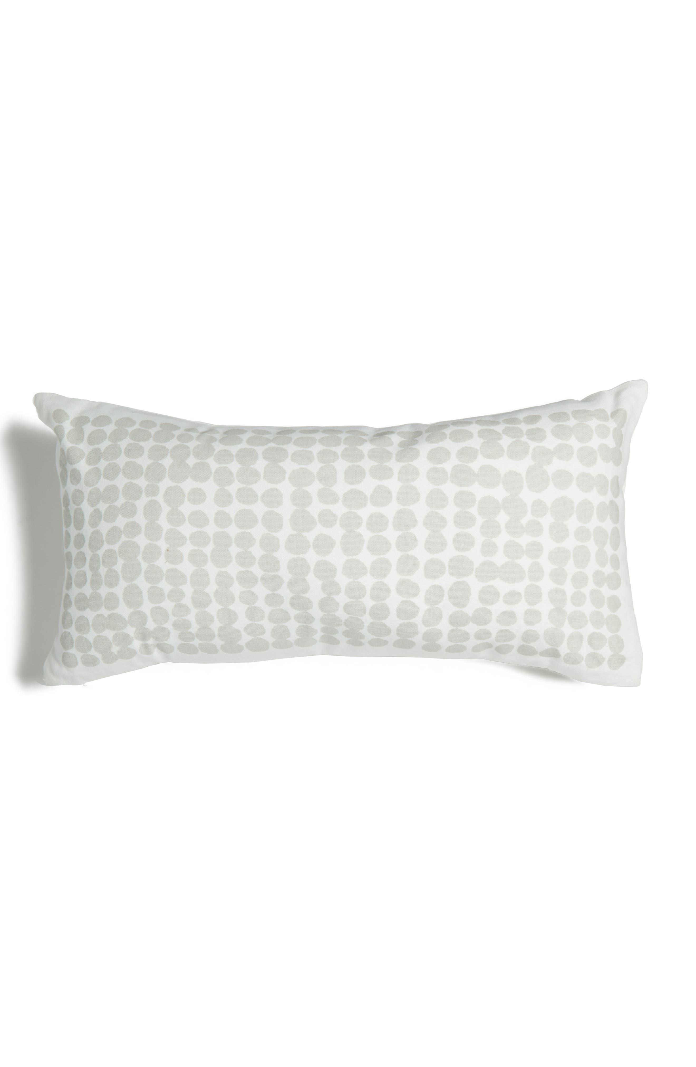 dot stamp accent pillow,                             Main thumbnail 1, color,                             020