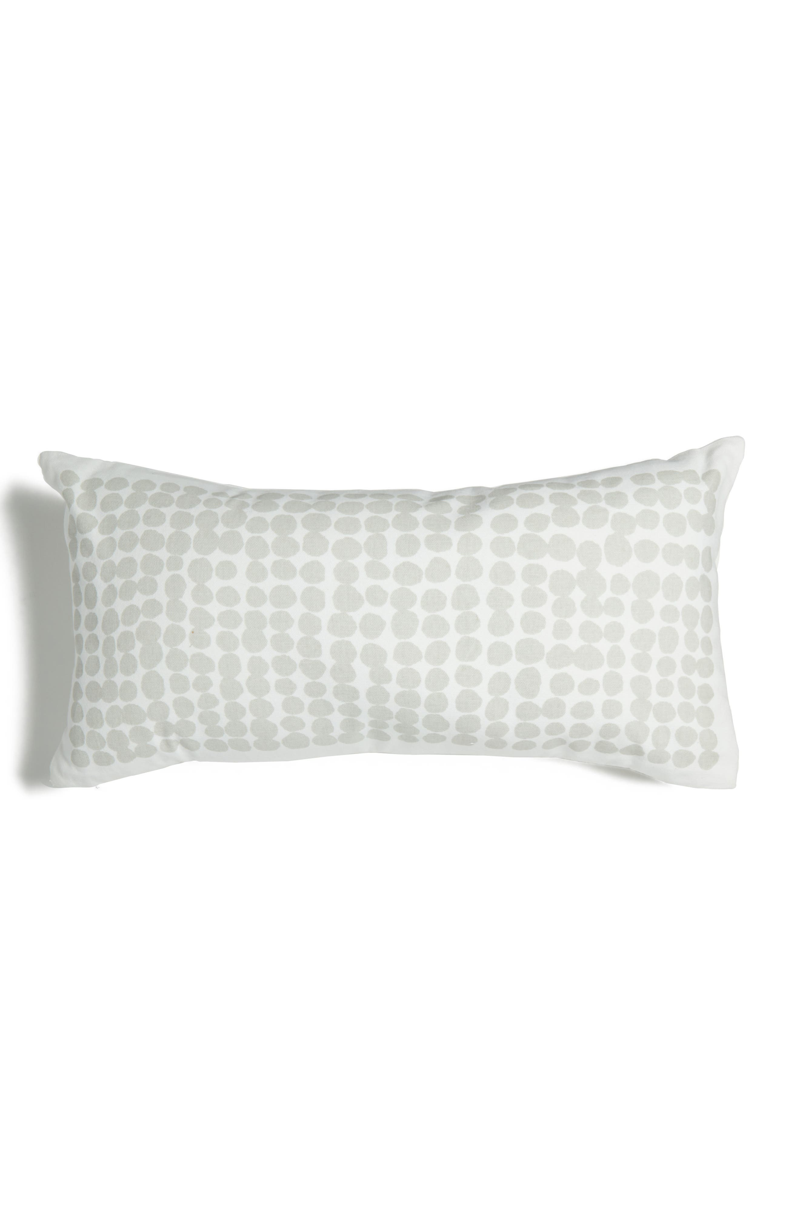 dot stamp accent pillow,                         Main,                         color, 020