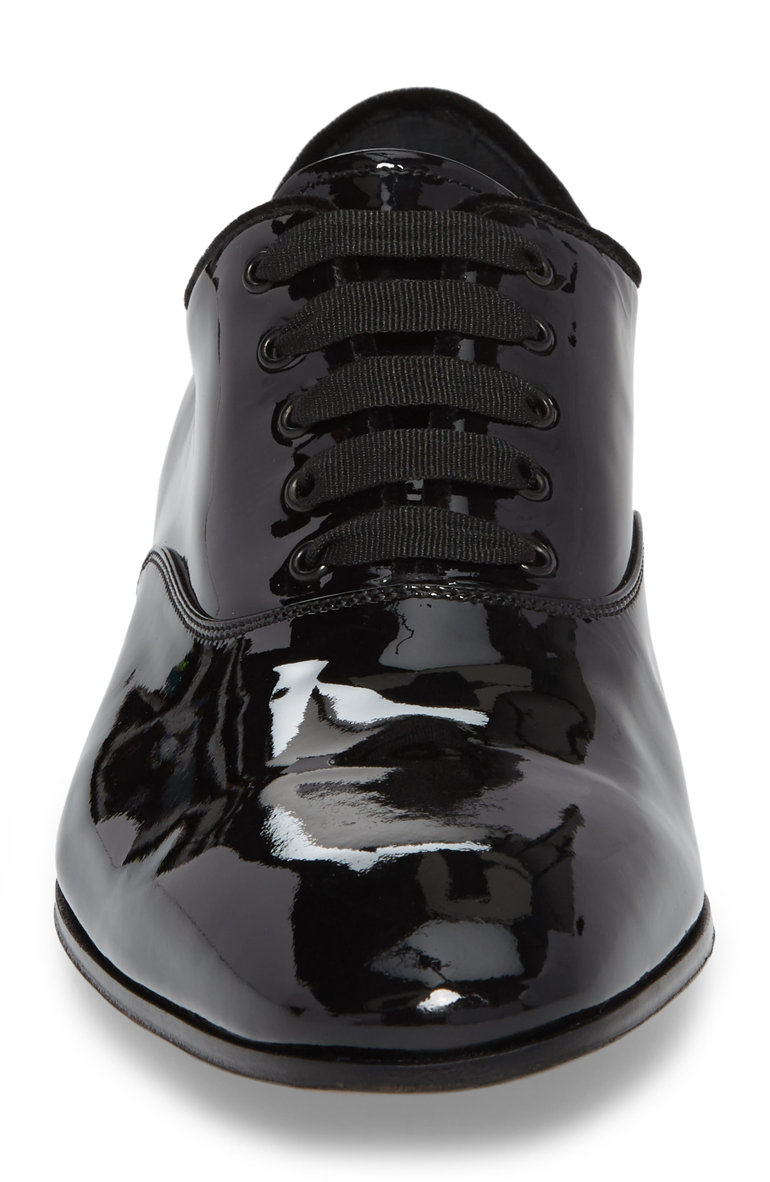 Belshaw Patent Oxford,                             Alternate thumbnail 4, color,                             NERO PATENT LEATHER