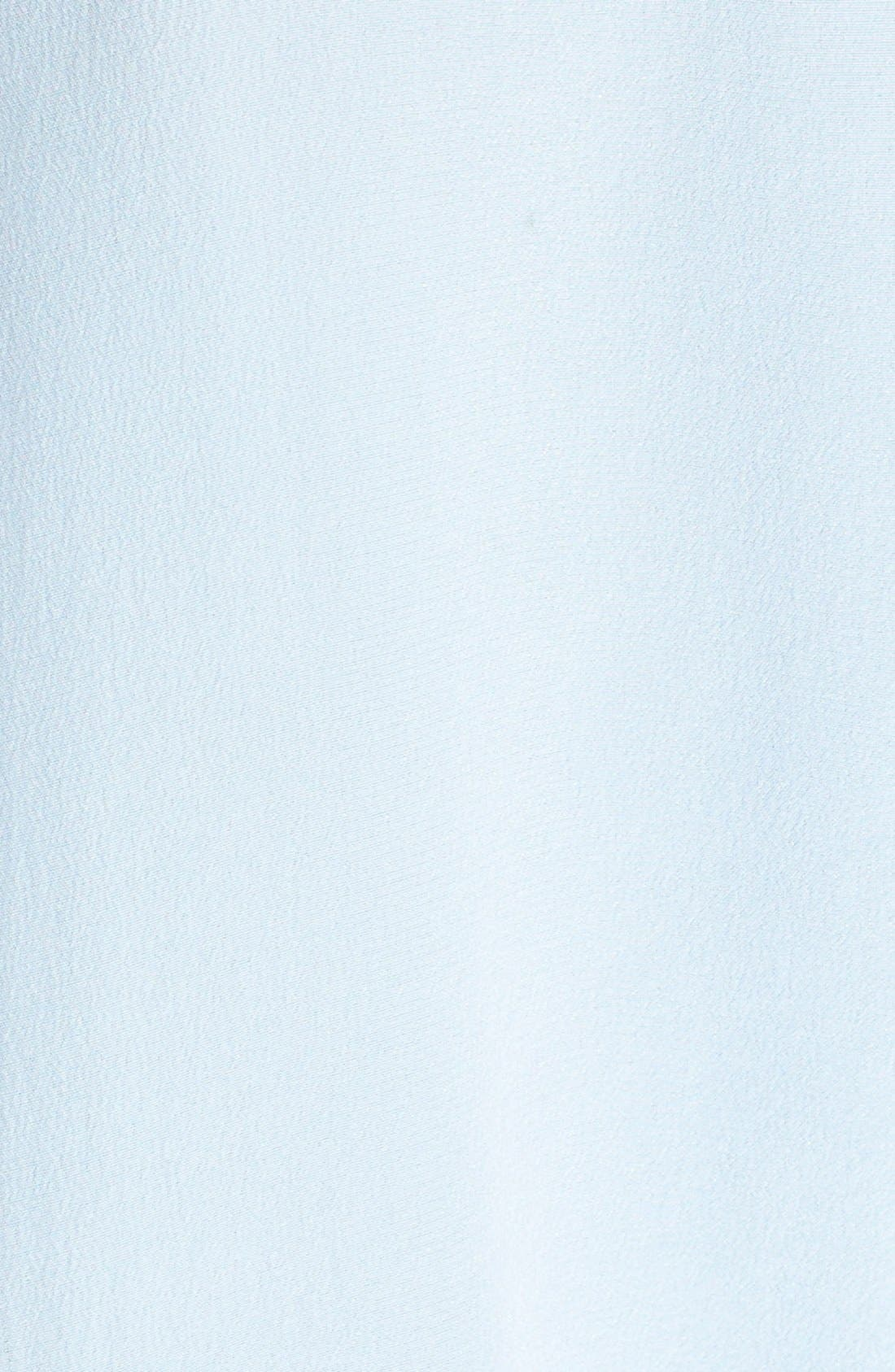 'Slim Signature' Sleeveless Silk Shirt,                             Alternate thumbnail 125, color,
