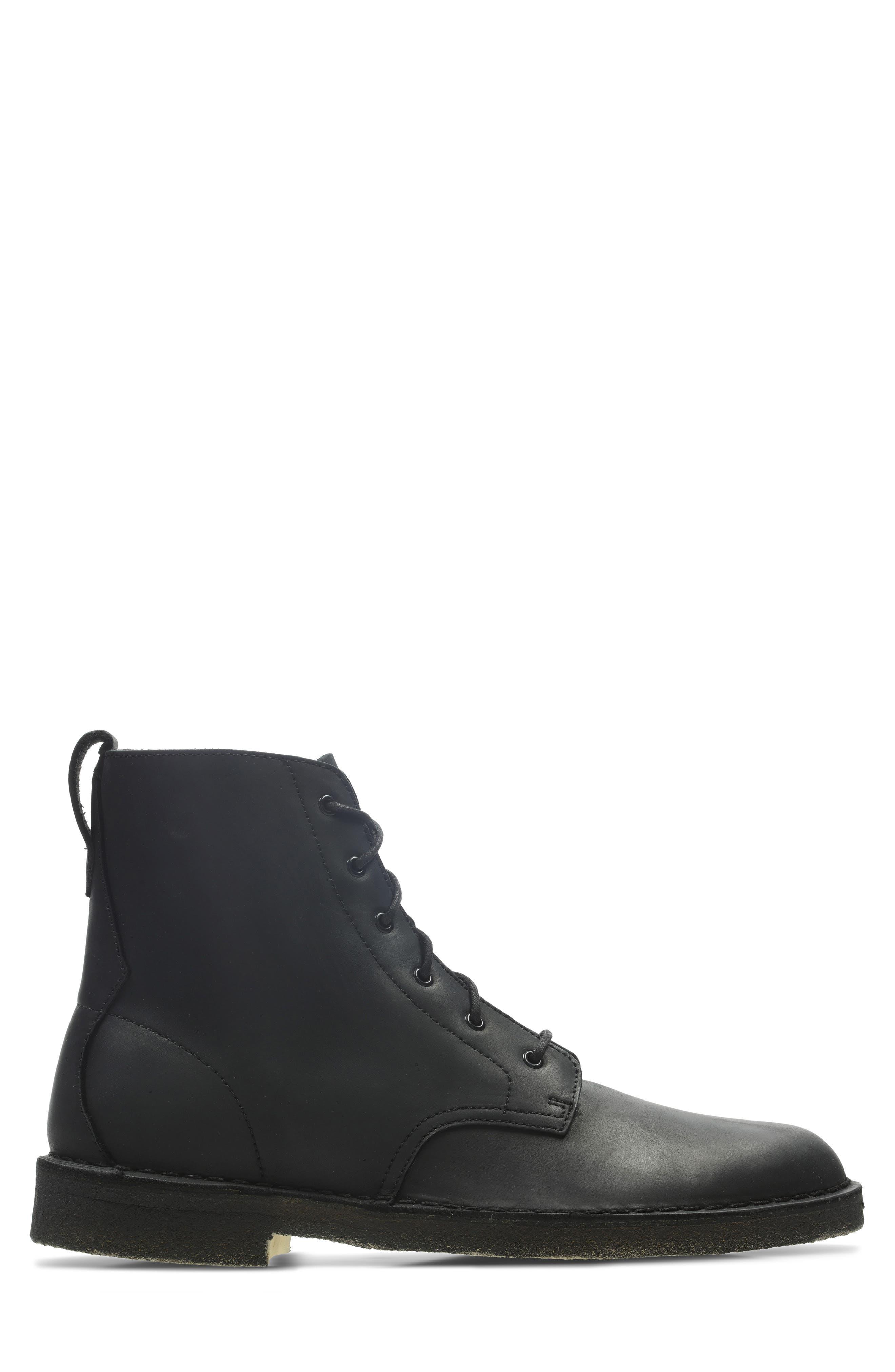 Originals 'Desert Mali' Boot,                             Alternate thumbnail 2, color,                             BLACK LEATHER