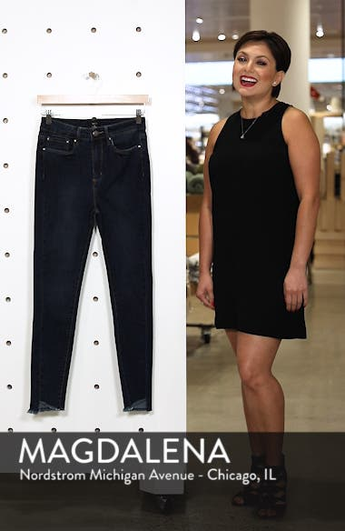 Clark High Waist Skinny Jeans, sales video thumbnail