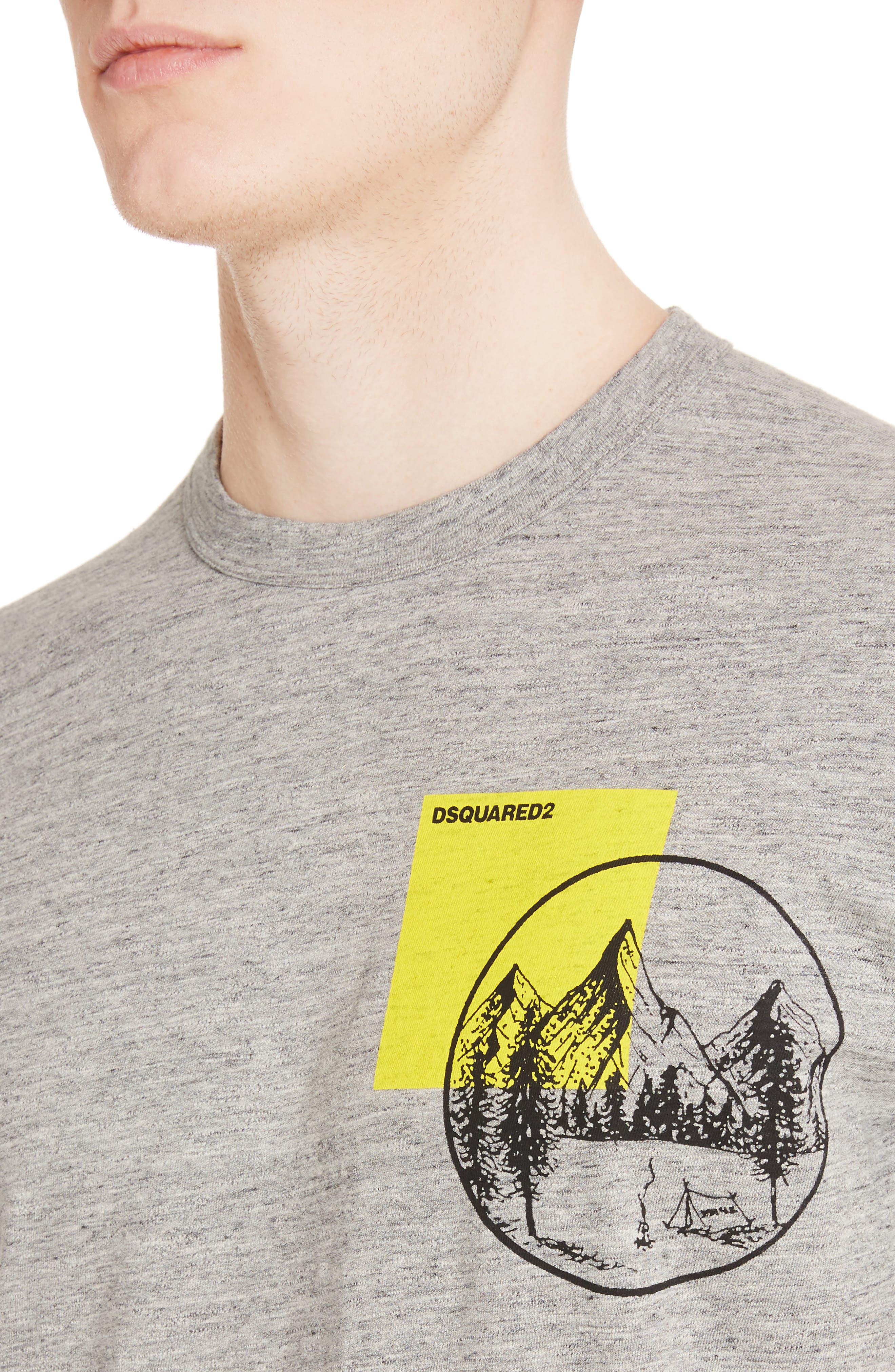 Mountain Chest T-Shirt,                             Alternate thumbnail 4, color,                             052