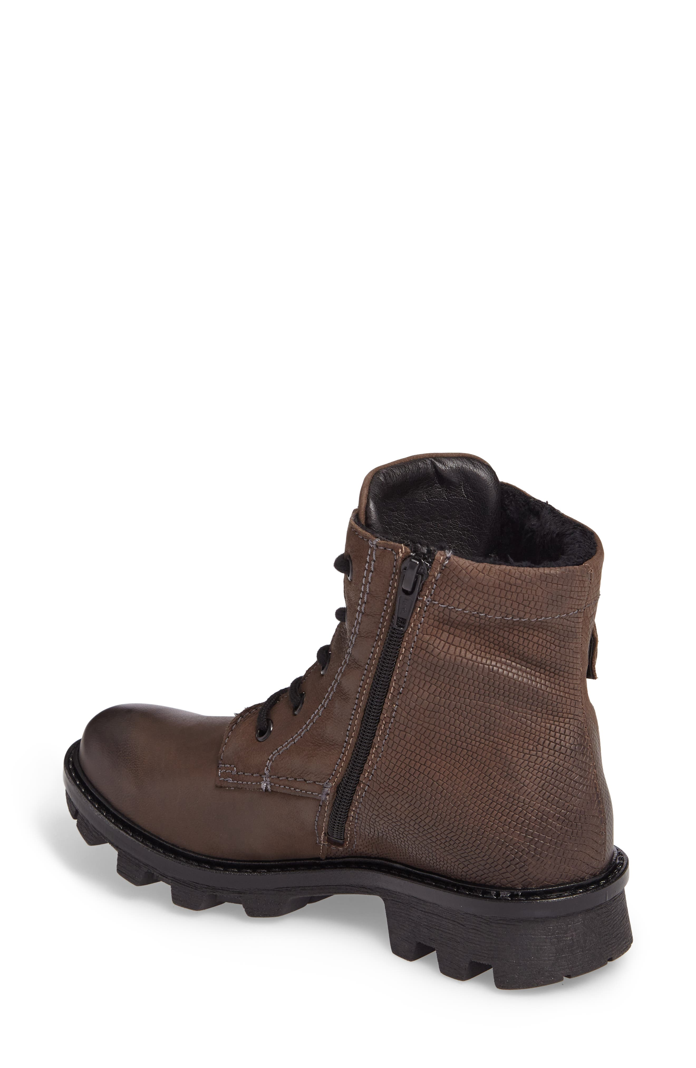 Marilyn Boot,                             Alternate thumbnail 2, color,                             ANTHRACITE LEATHER