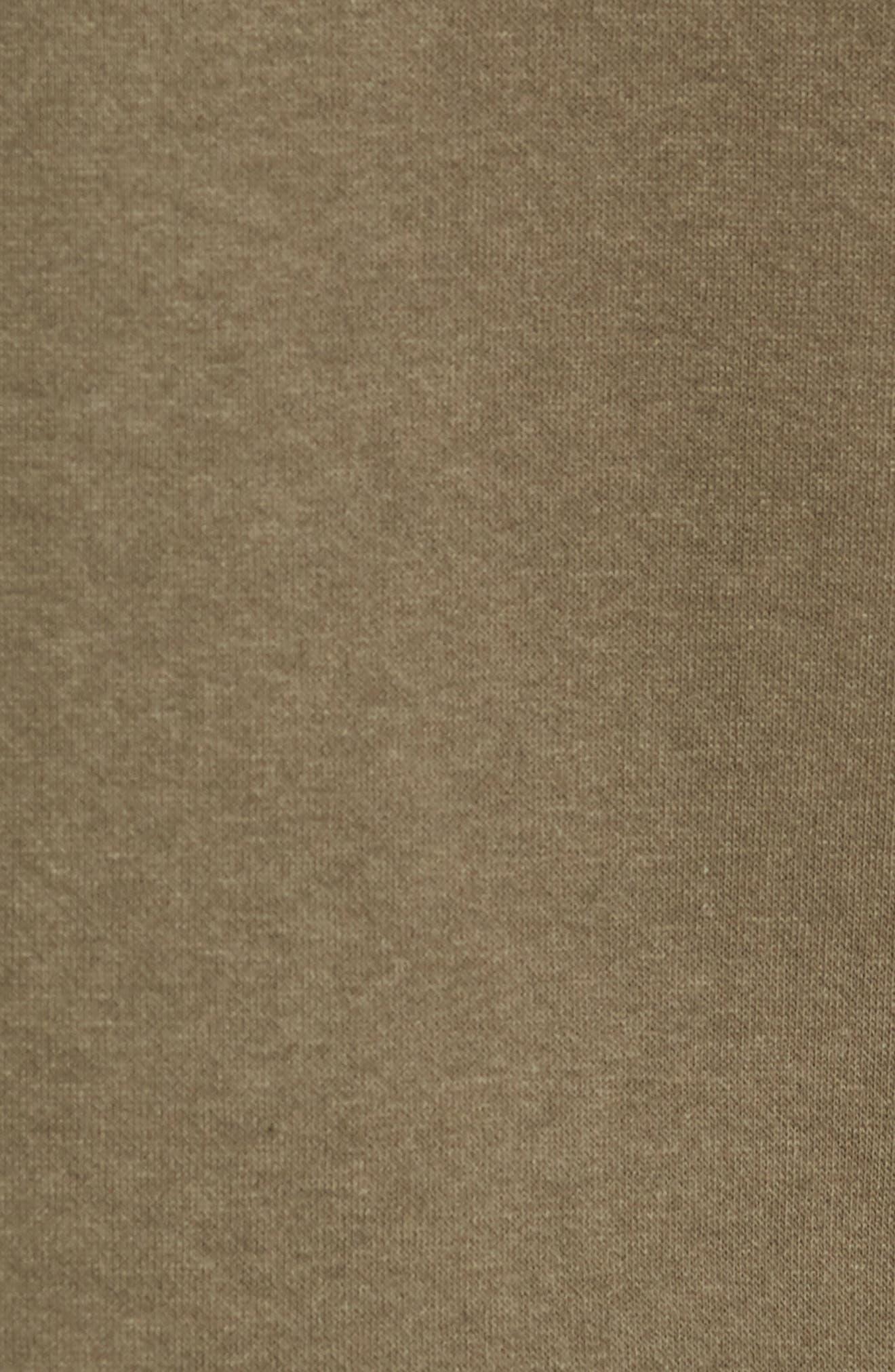 Trim Fit Long Sleeve Pocket T-Shirt,                             Alternate thumbnail 5, color,                             OLIVE