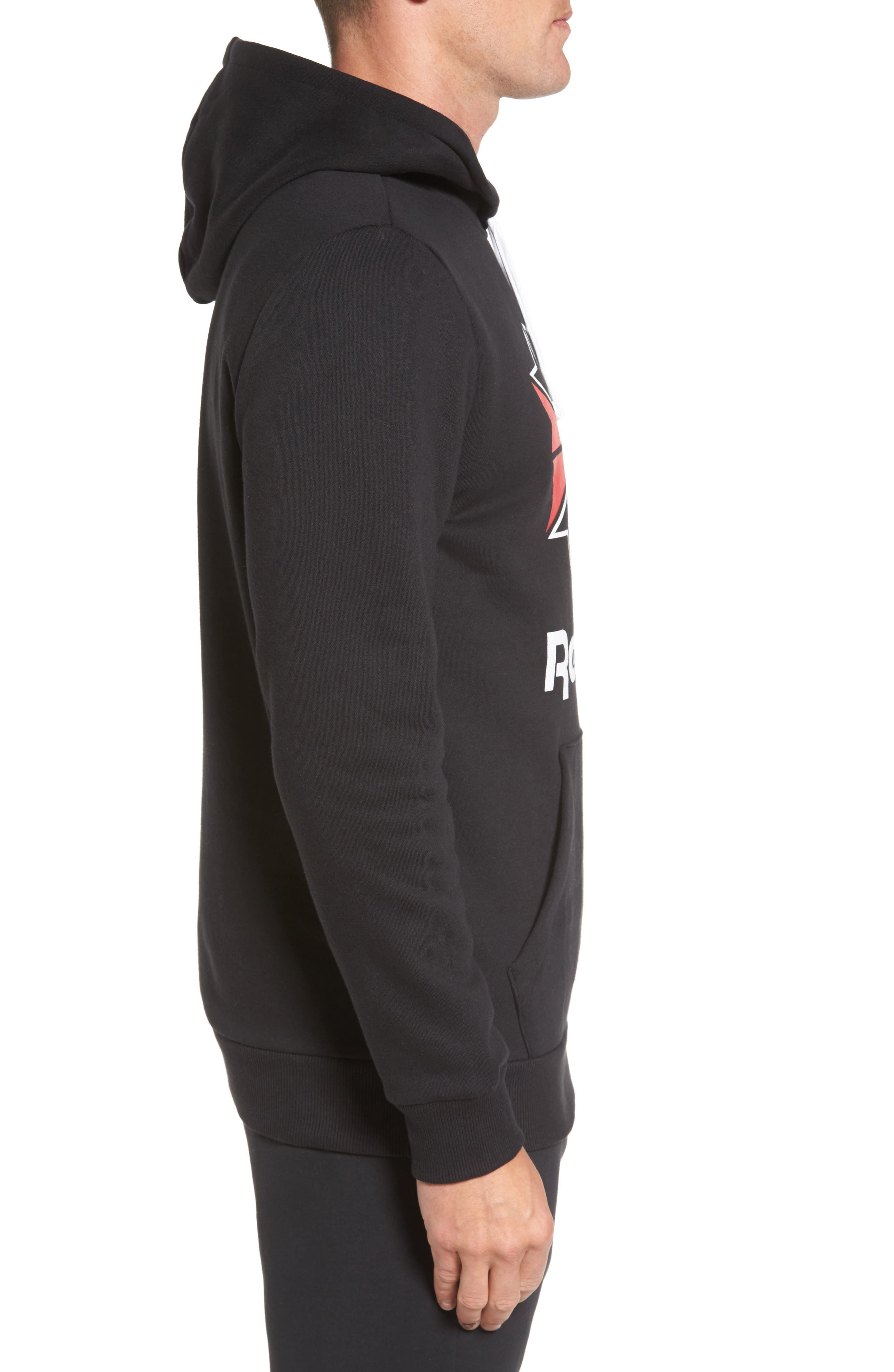 Classics Star Graphic Hoodie,                             Alternate thumbnail 3, color,                             005