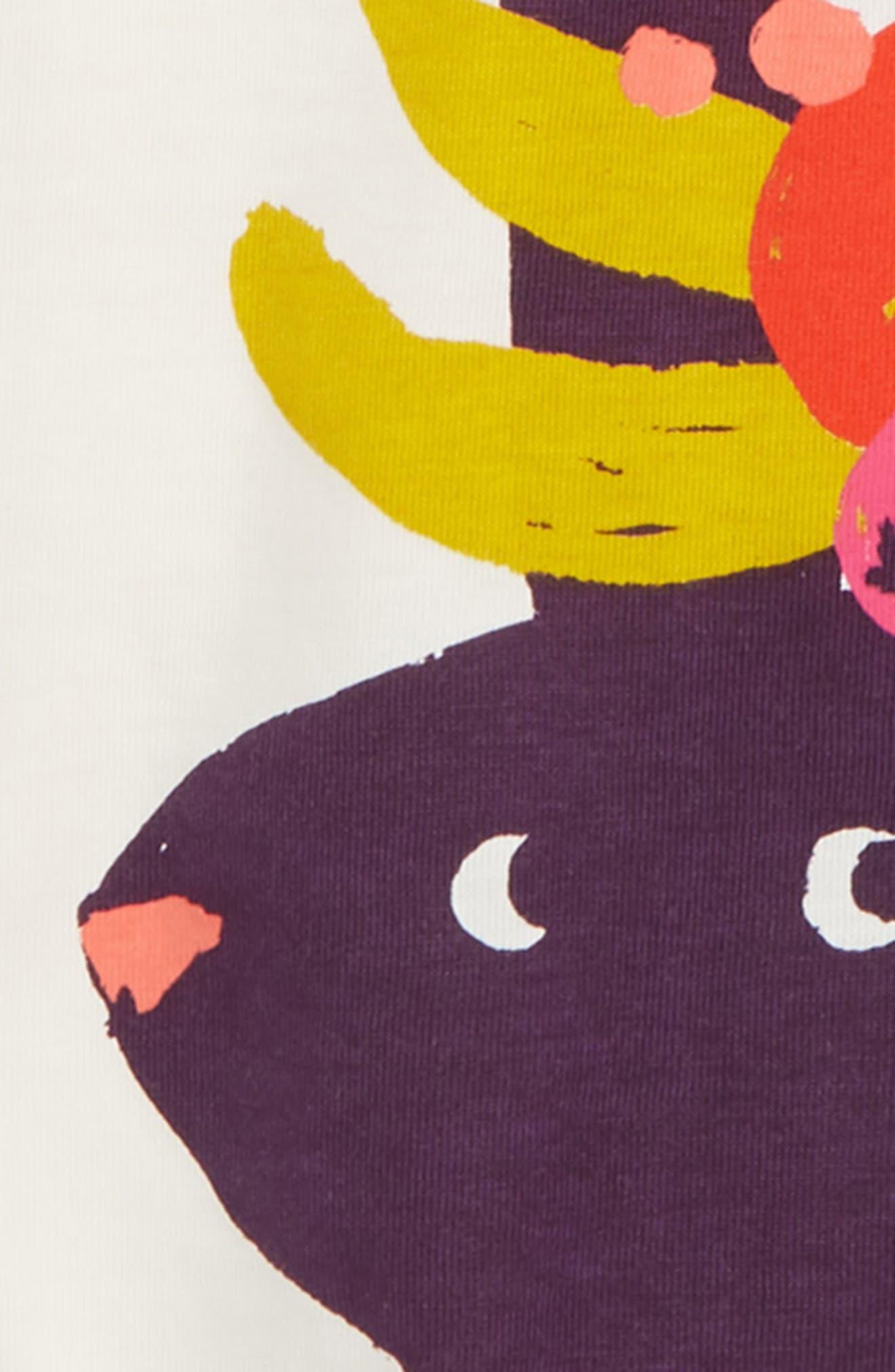 Fruit Rabbit Graphic Tee,                             Alternate thumbnail 2, color,                             BOUQUET