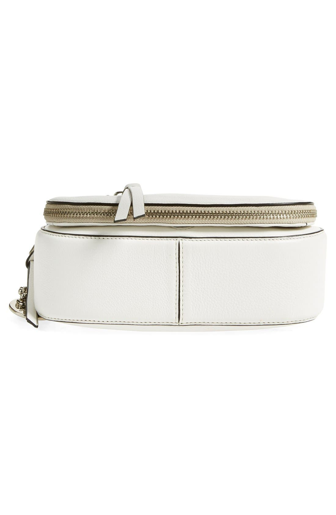 Small Recruit Nomad Pebbled Leather Crossbody Bag,                             Alternate thumbnail 79, color,