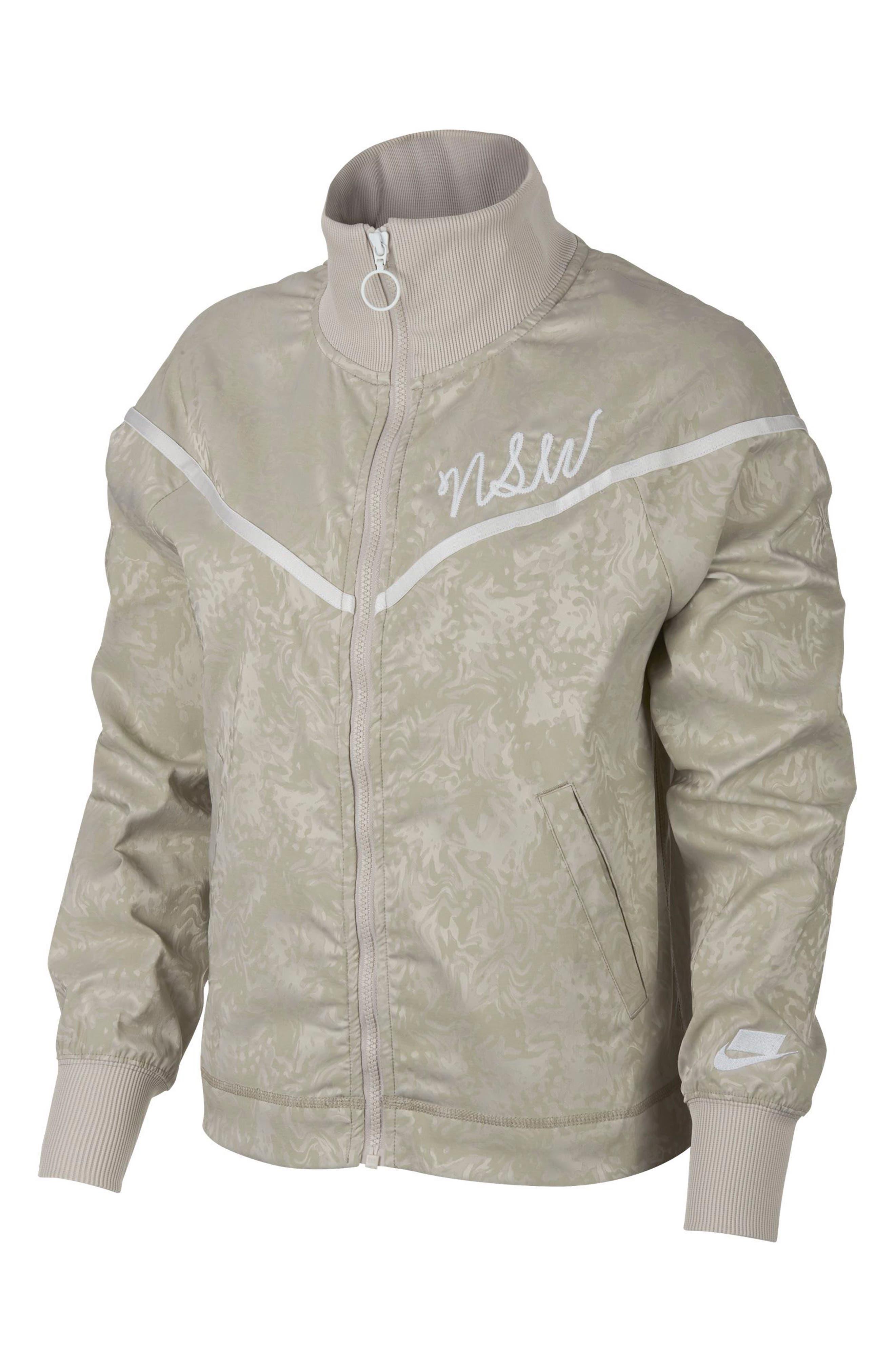 Sportswear NSW Women's Track Jacket,                         Main,                         color, STRING/ PHANTOM/ STRING/ WHITE