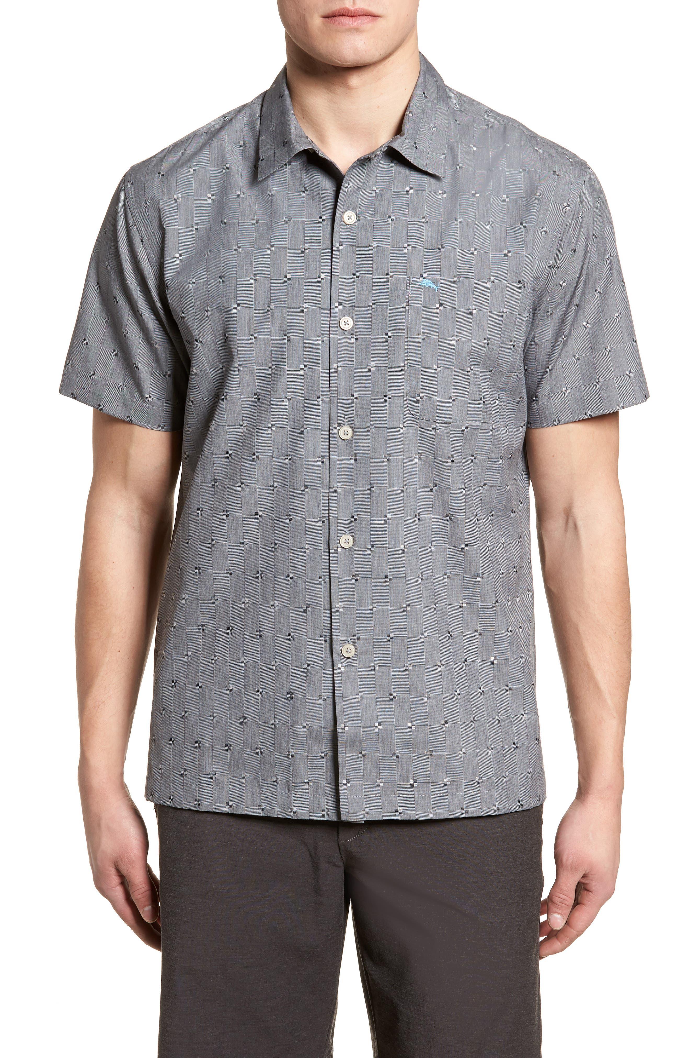 Cypress Sands Camp Shirt,                             Main thumbnail 1, color,                             001