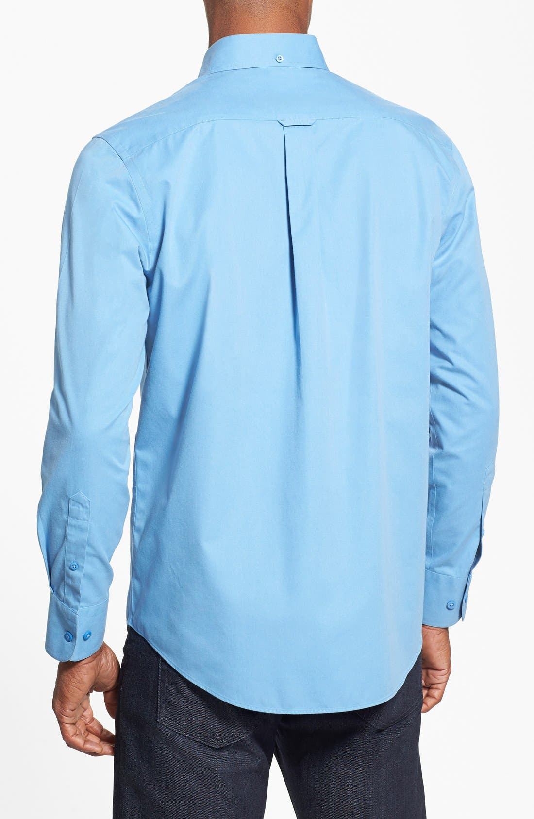 Smartcare<sup>™</sup> Traditional Fit Twill Boat Shirt,                             Alternate thumbnail 93, color,