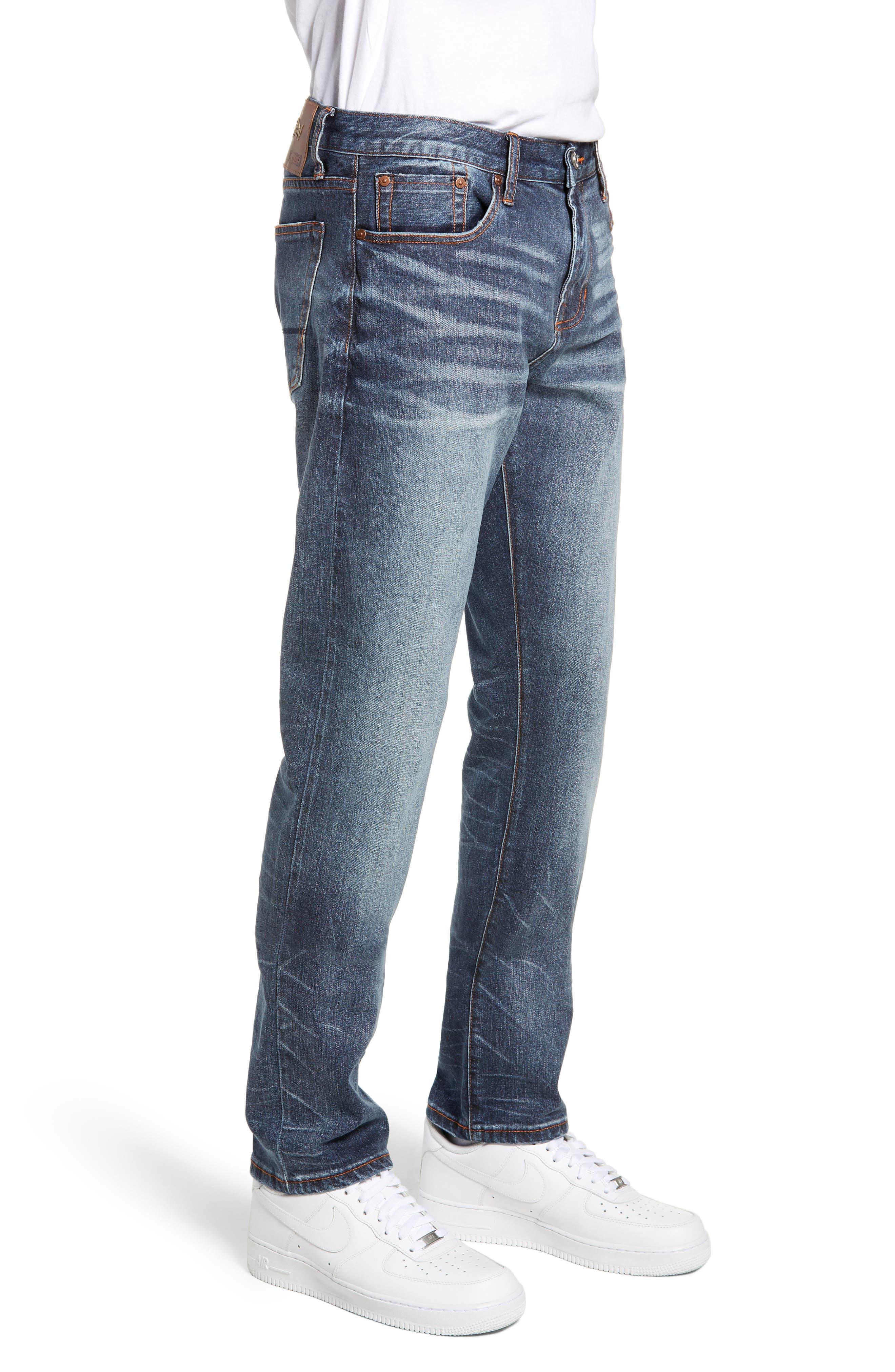 Mick Slim Fit Jeans,                             Alternate thumbnail 3, color,                             LAFAYETTE