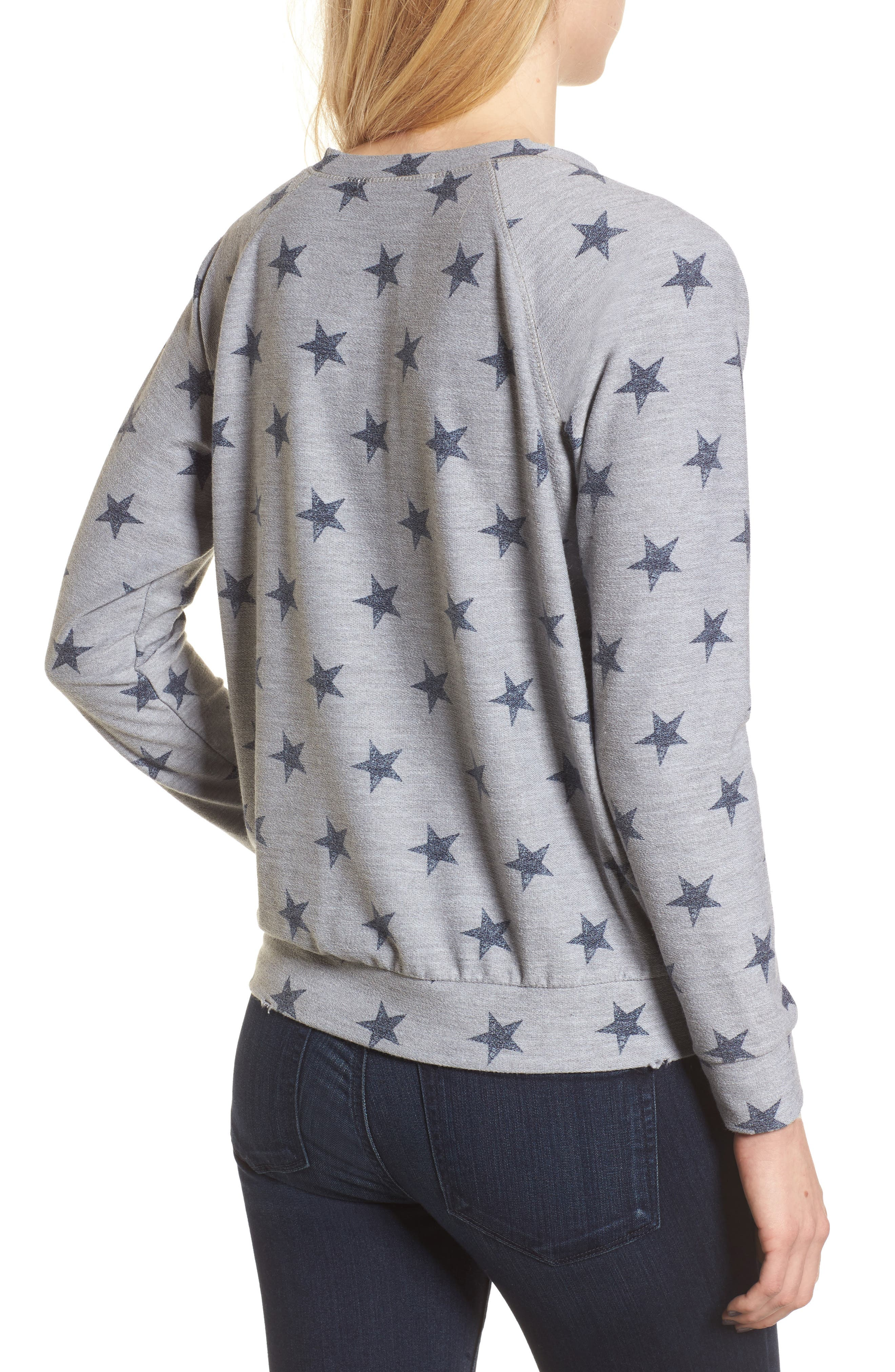 All Over Stars Pullover,                             Alternate thumbnail 2, color,                             020