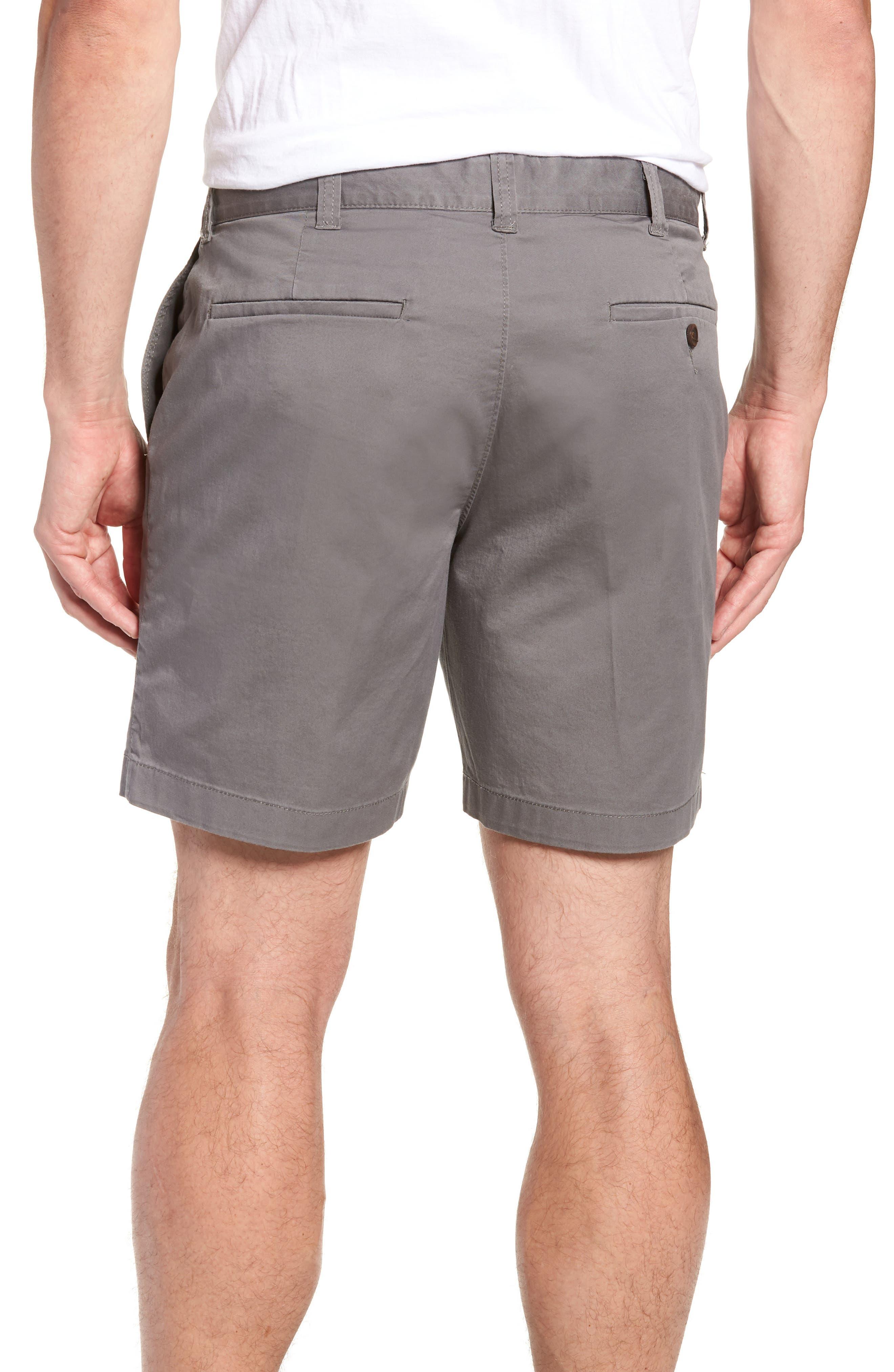 Stretch Cotton Shorts,                             Alternate thumbnail 6, color,