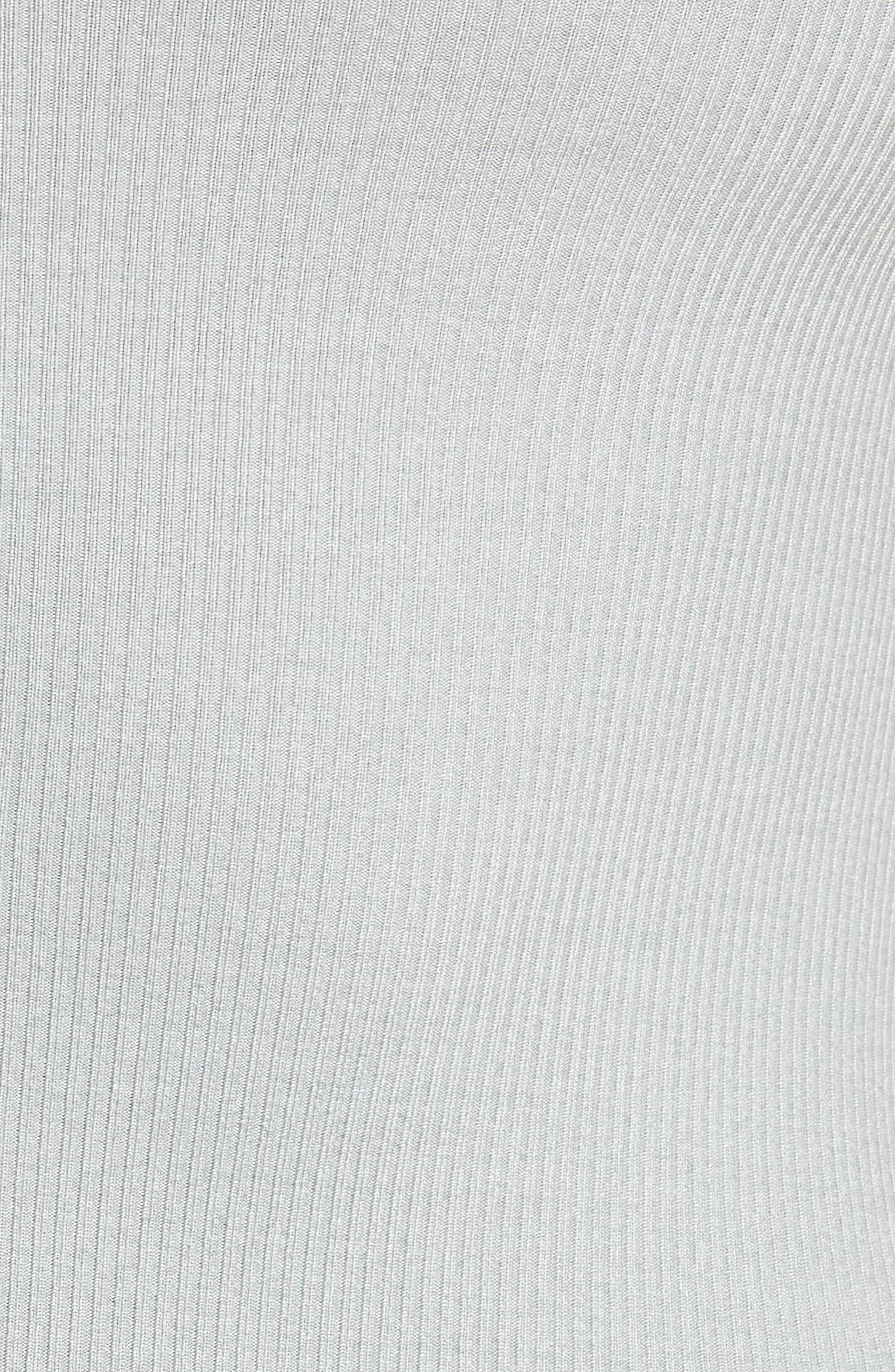 Mock Neck Zip Bodysuit,                             Alternate thumbnail 13, color,