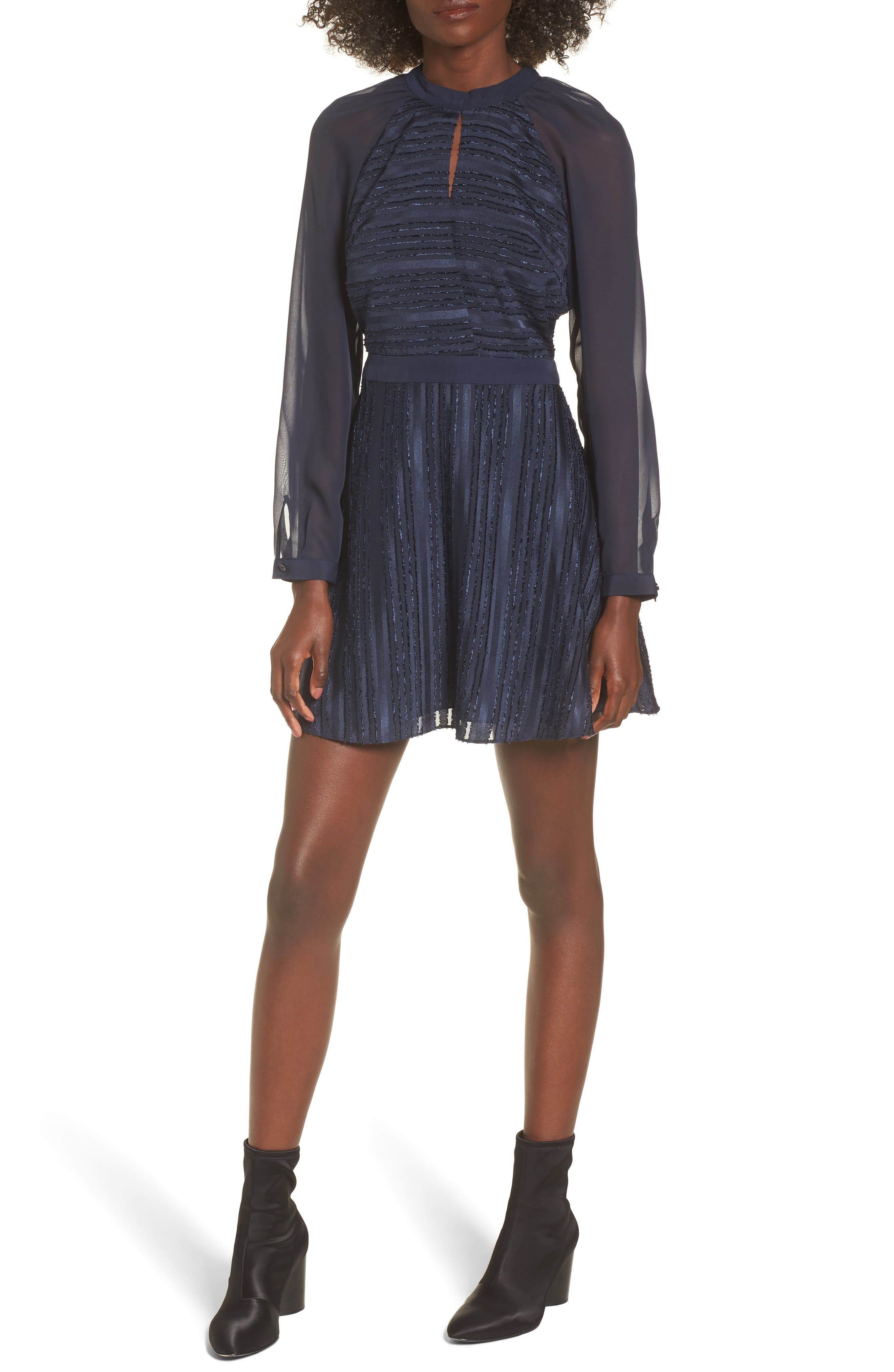 Marge Skater Dress,                         Main,                         color, 400