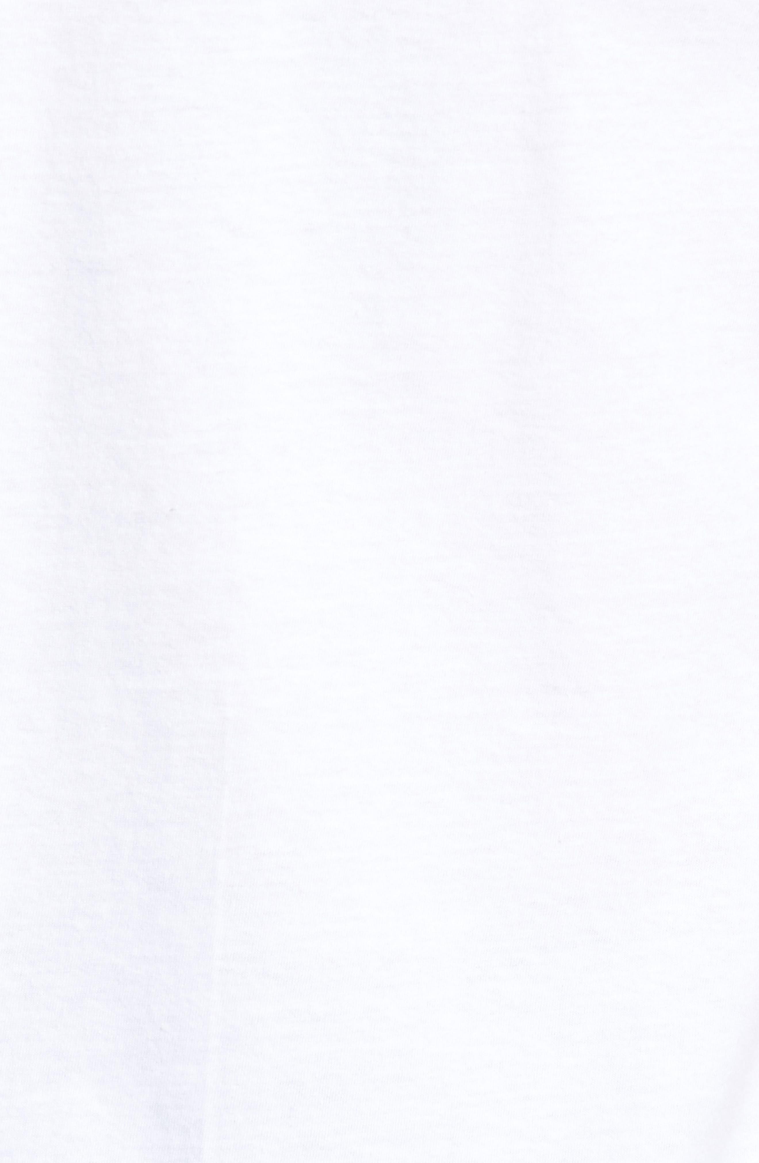 Famous Rose Graphic T-Shirt,                             Alternate thumbnail 5, color,                             100