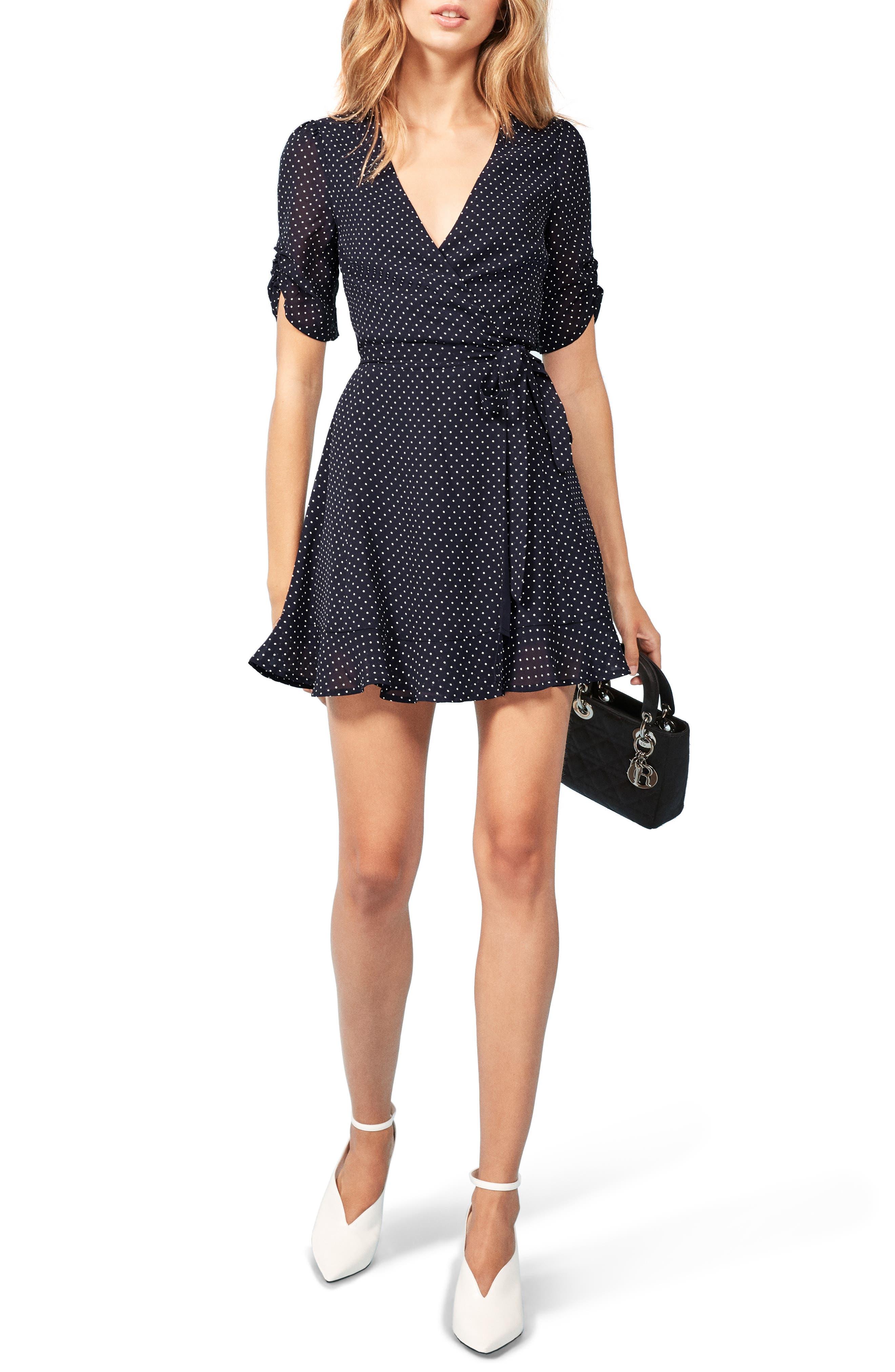 Monica Wrap Dress by Reformation
