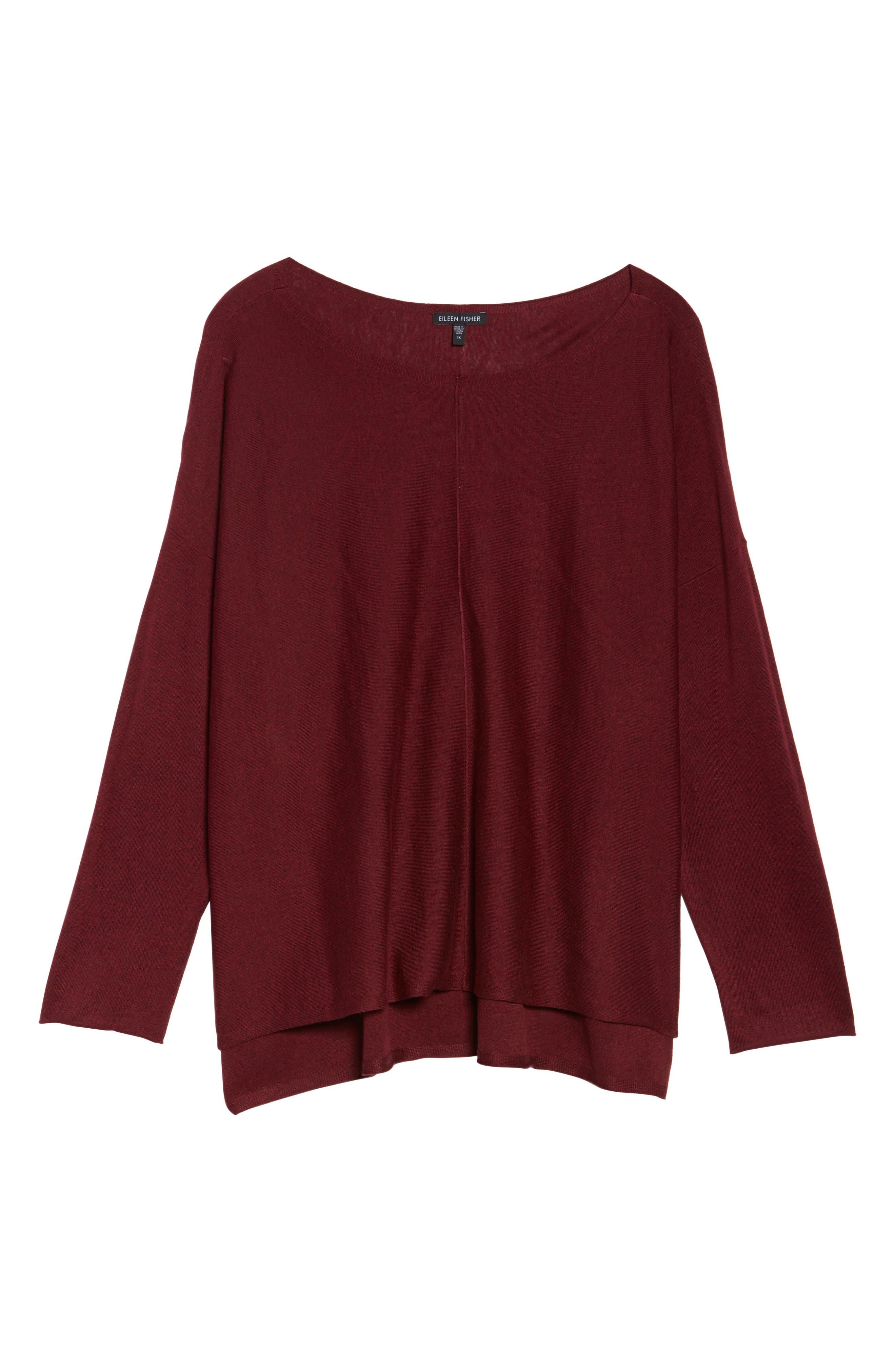 Tencel<sup>®</sup> Lyocell Blend Sweater,                             Alternate thumbnail 42, color,