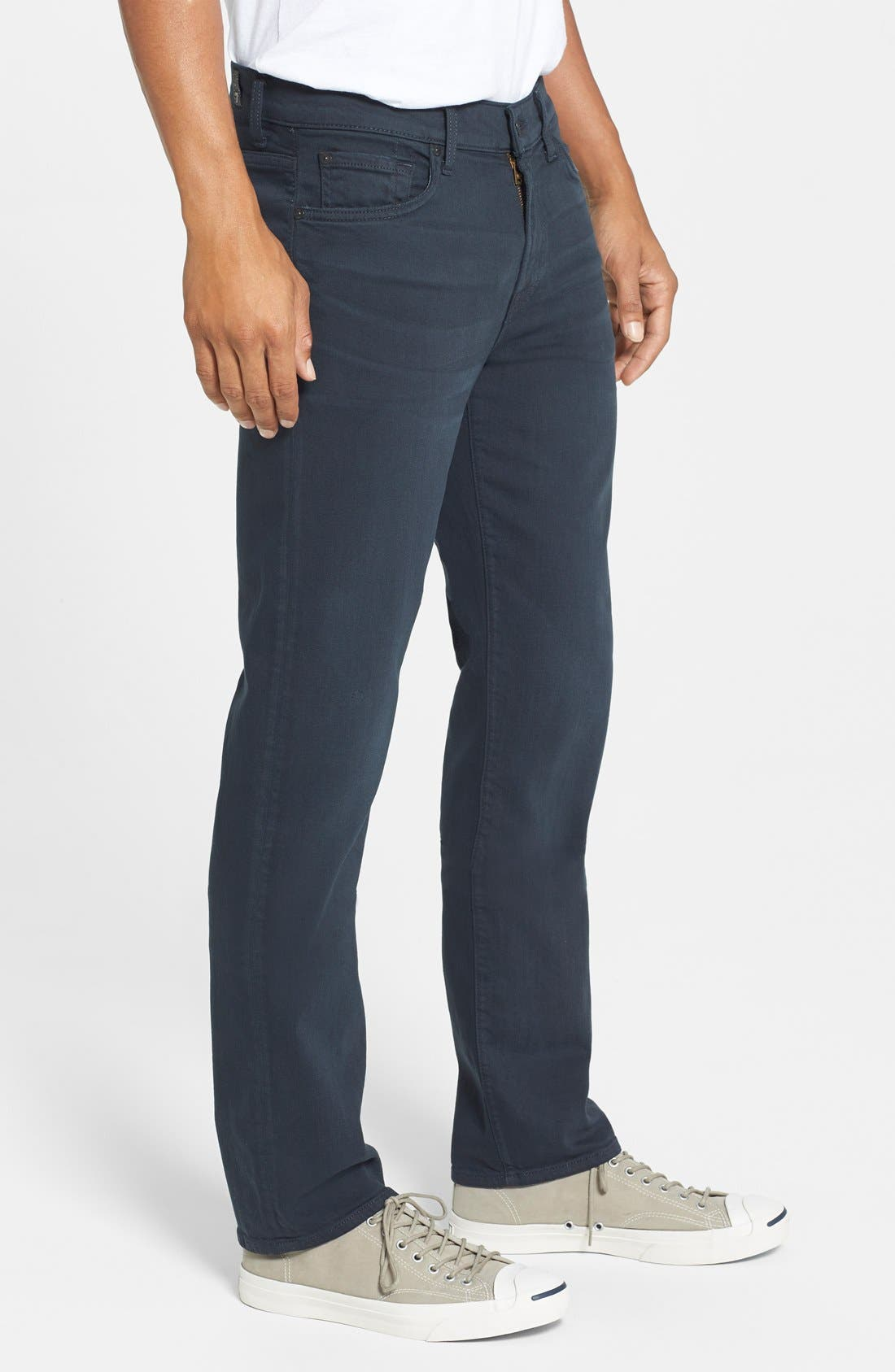 'Slimmy - Luxe Performance' Slim Fit Jeans,                             Alternate thumbnail 4, color,                             004