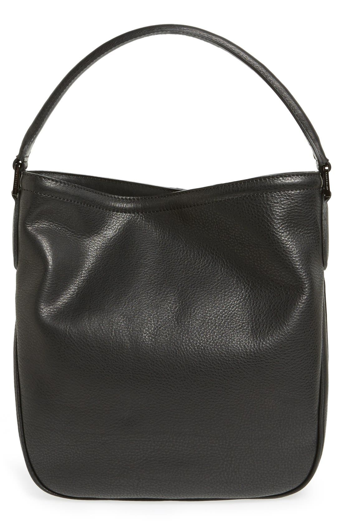 'Mystery' Leather Hobo,                             Alternate thumbnail 8, color,