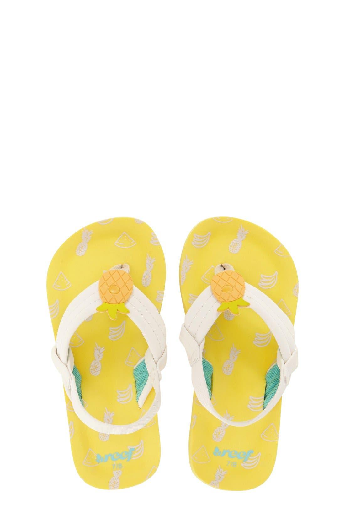 'Little Ahi' Thong Sandal,                             Main thumbnail 12, color,