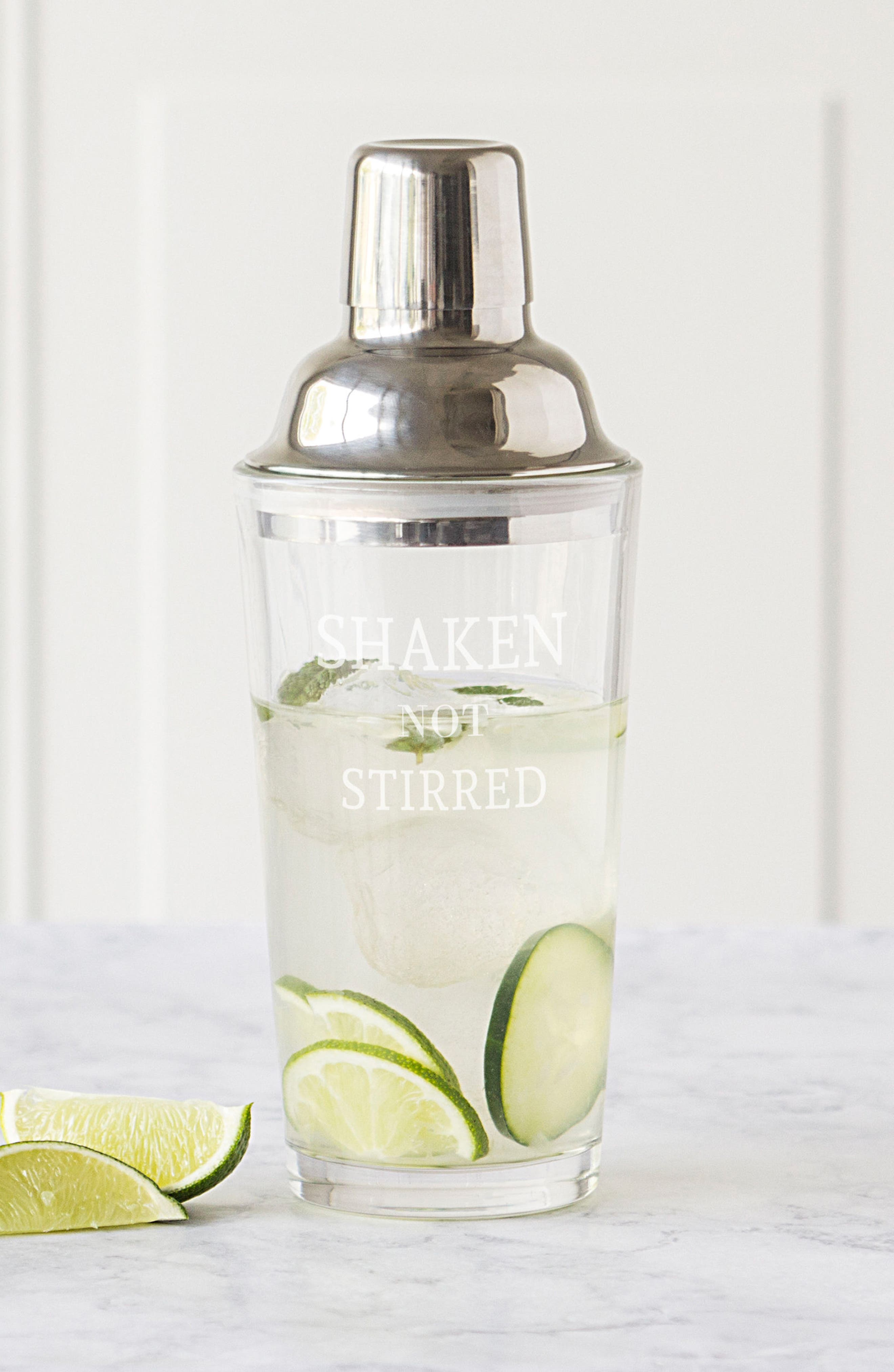 Shaken Not Stirred Cocktail Shaker,                             Alternate thumbnail 3, color,                             040