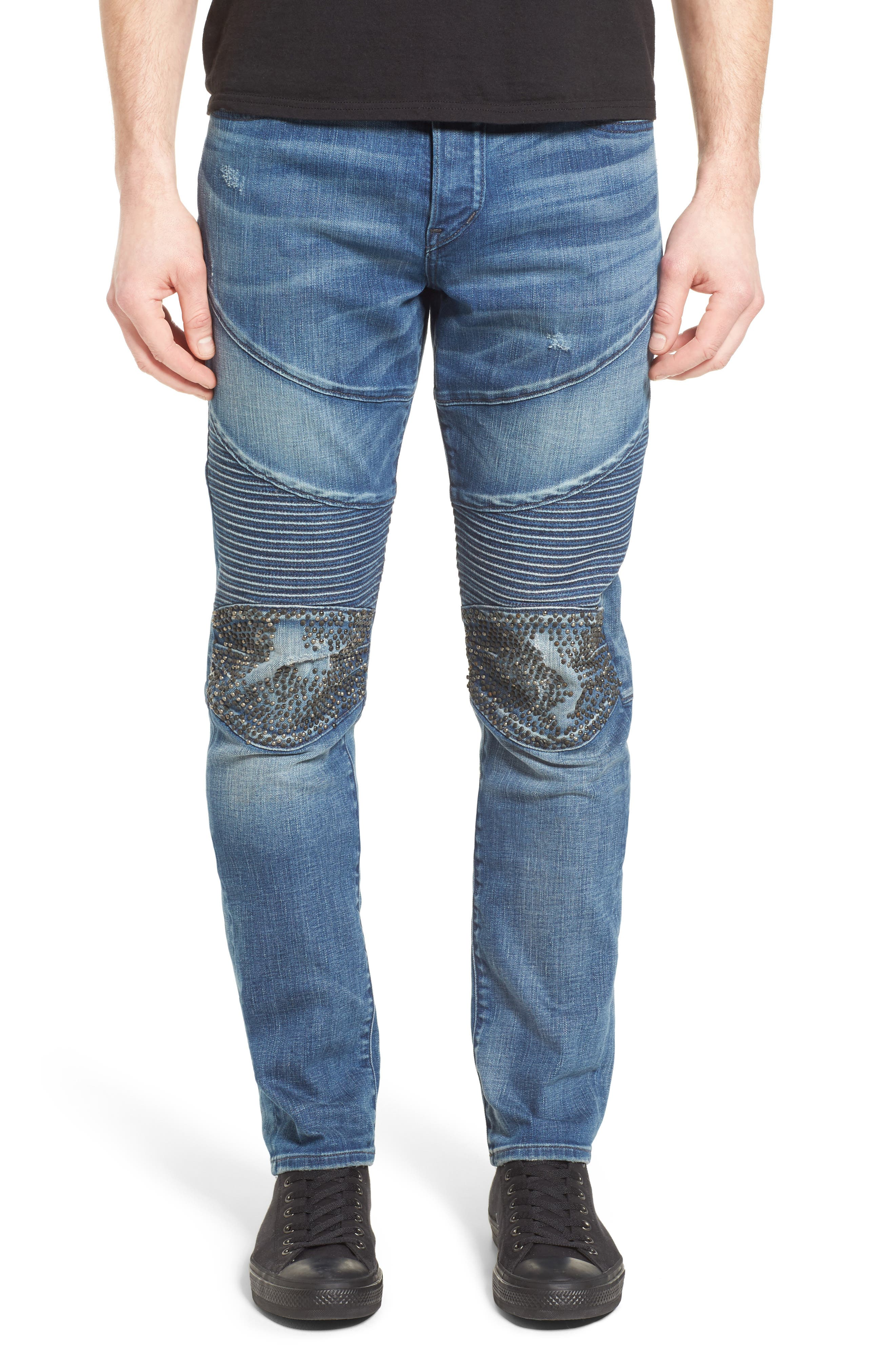 TRUE RELIGION BRAND JEANS Rocco Skinny Fit Jeans, Main, color, ENDLESS ROAD