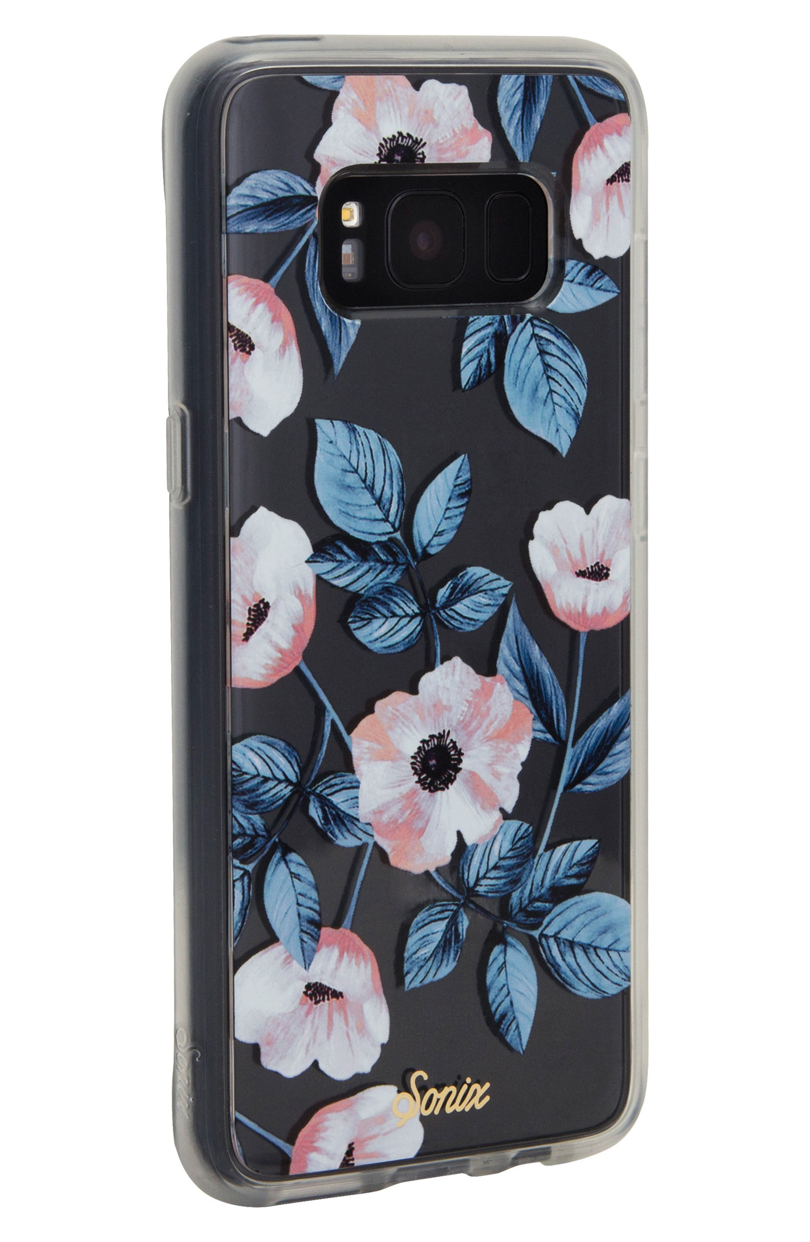 Floral Samsung Galaxy S8 and Galaxy S8 Plus Case,                             Alternate thumbnail 4, color,                             100