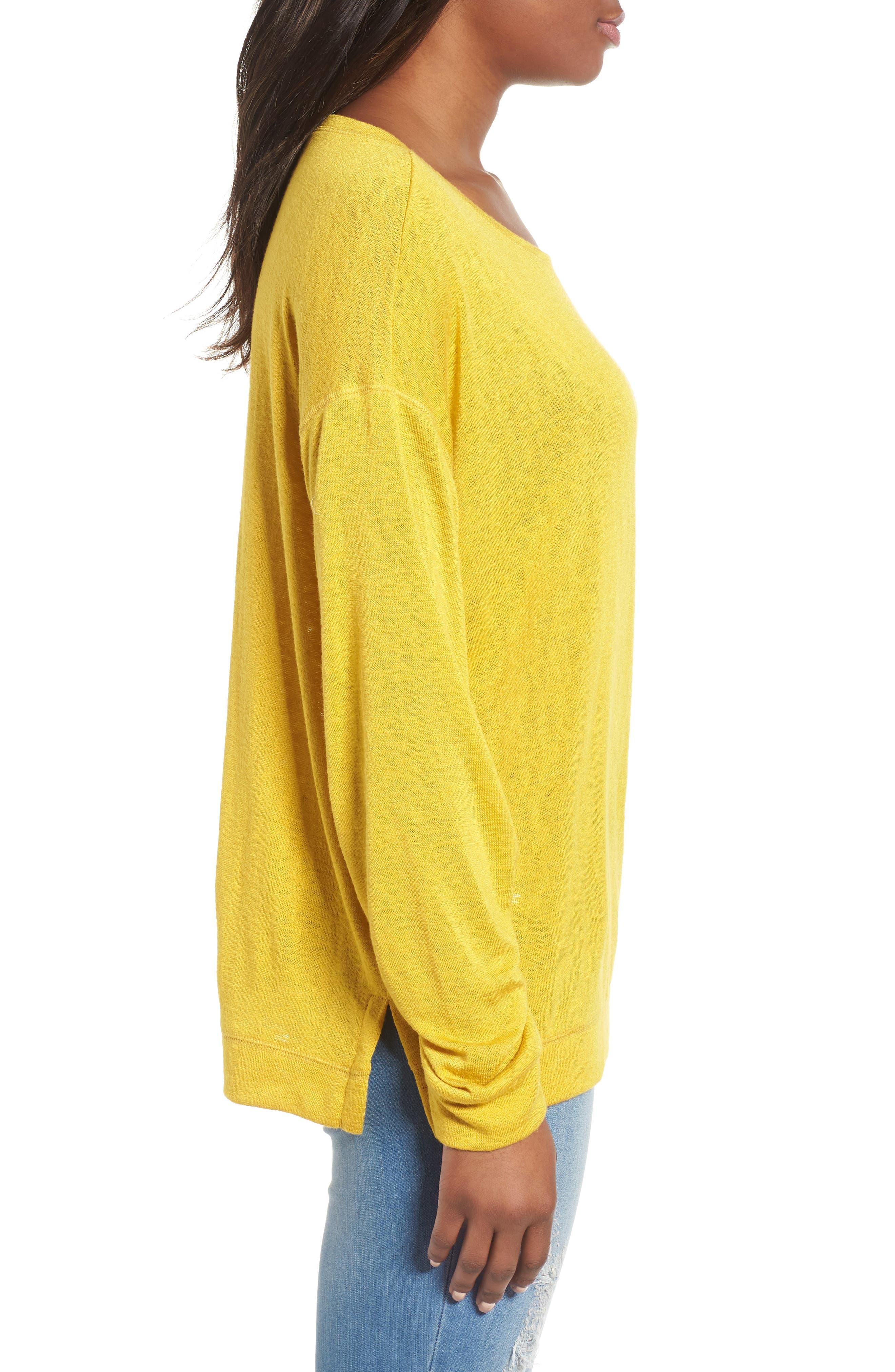 Tuck Sleeve Sweatshirt,                             Alternate thumbnail 19, color,
