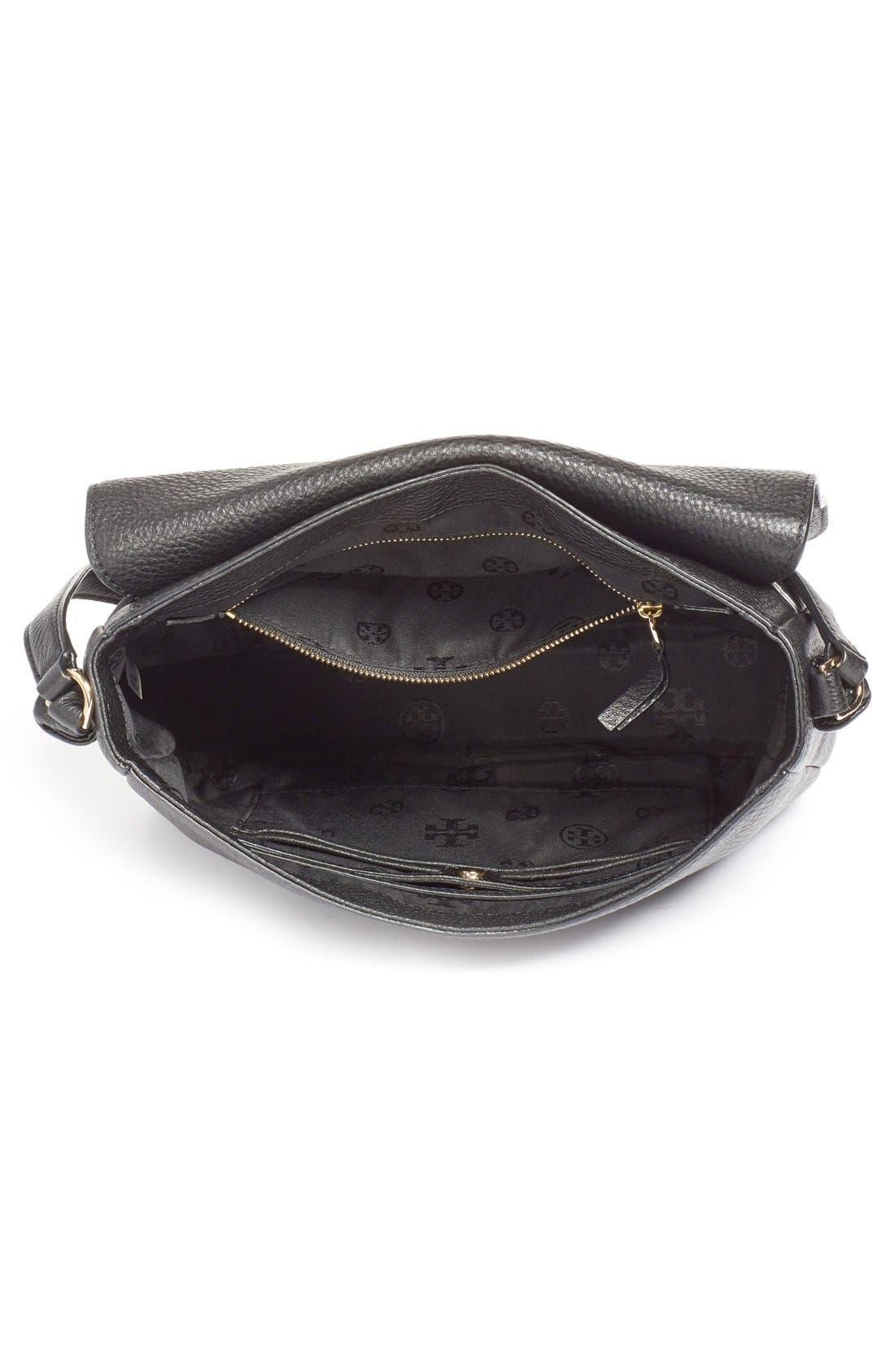 'Harper' Leather Crossbody Bag,                             Alternate thumbnail 2, color,                             012