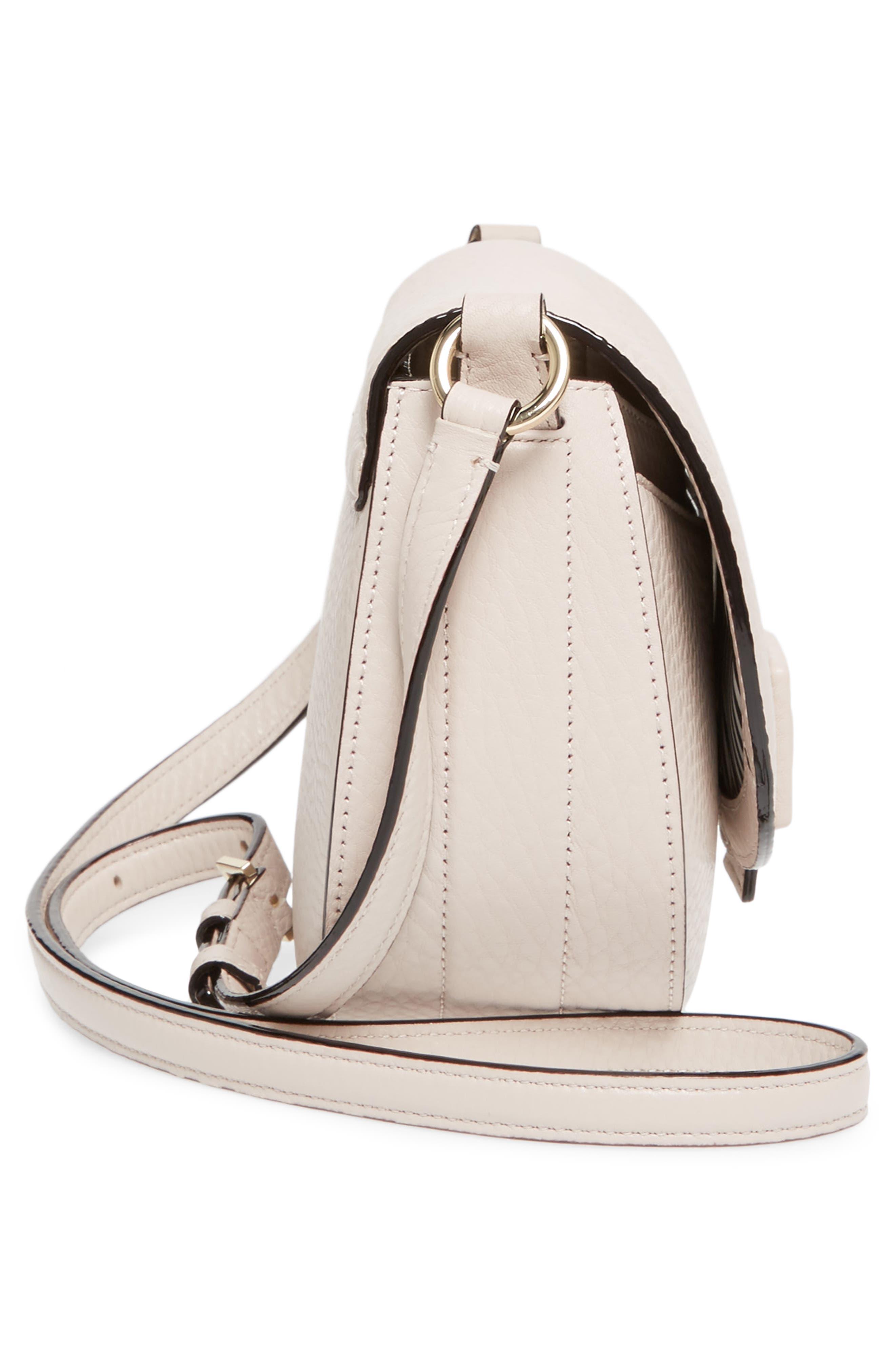 carlyle street - kallie leather saddle bag,                             Alternate thumbnail 14, color,