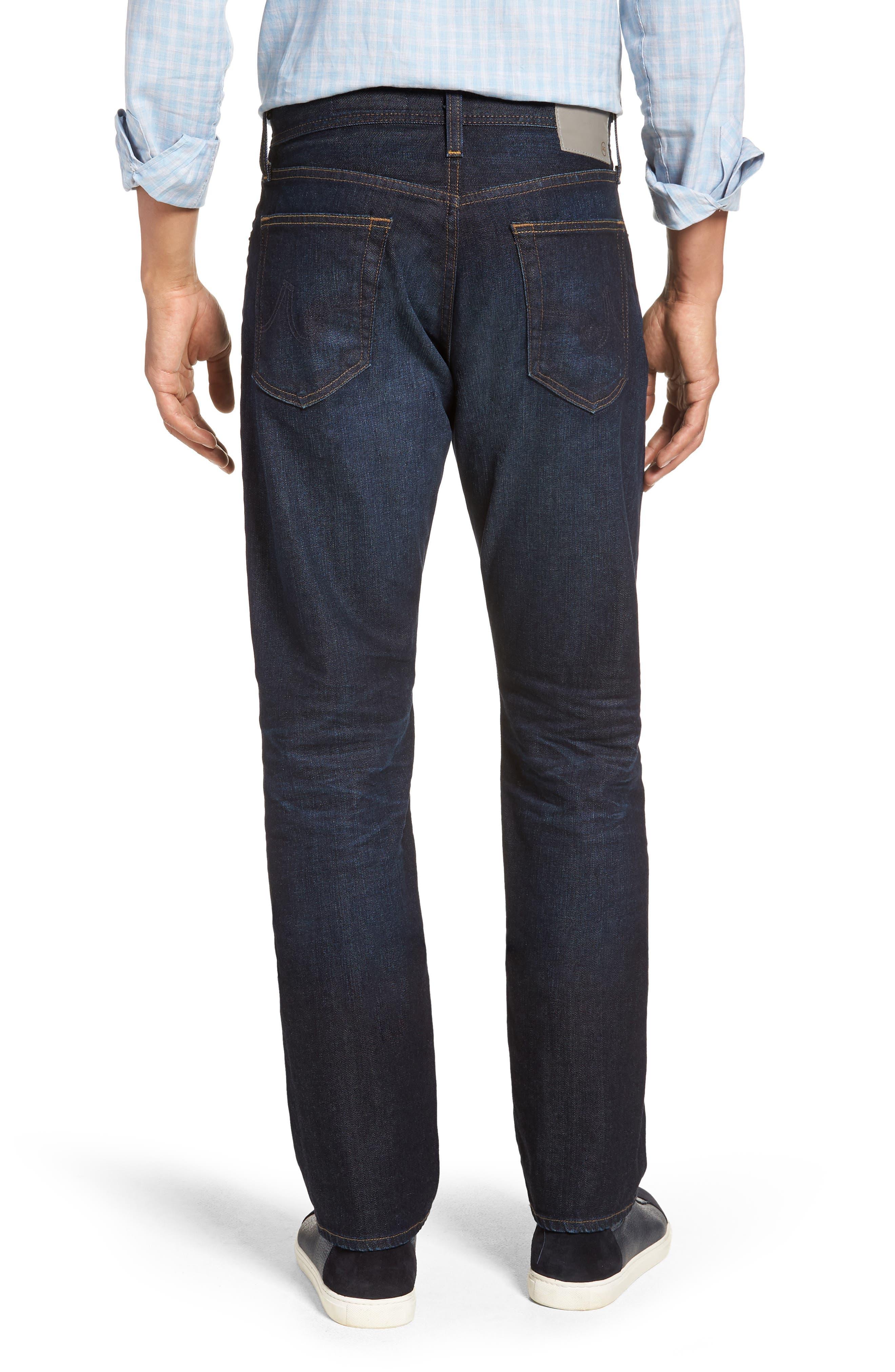 Everett Slim Straight Leg Jeans,                             Alternate thumbnail 2, color,                             5 YEARS CASINO