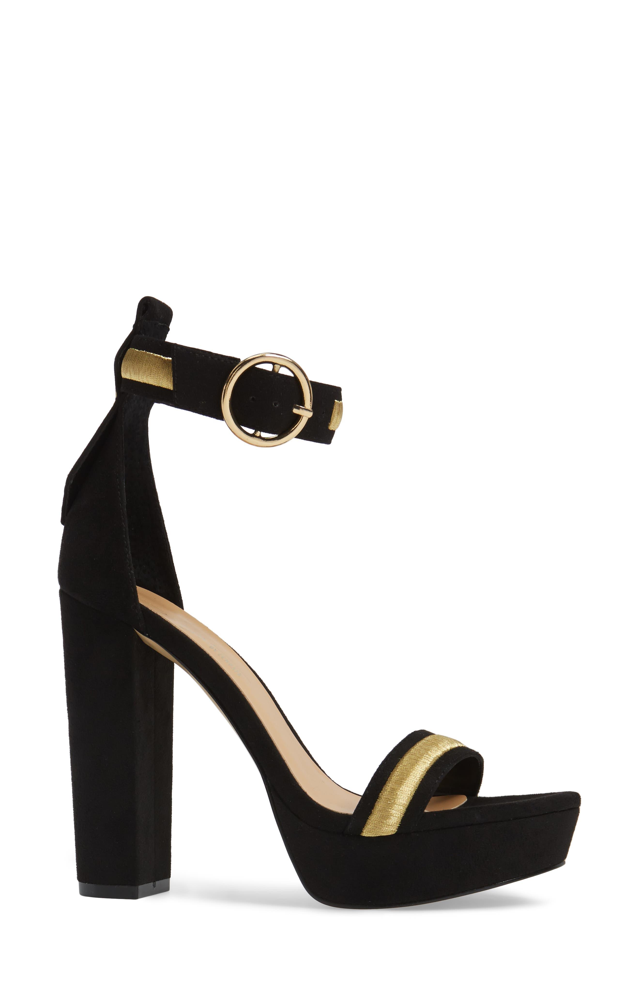 by Zendaya Norah Tall Platform Sandal,                             Alternate thumbnail 3, color,                             005