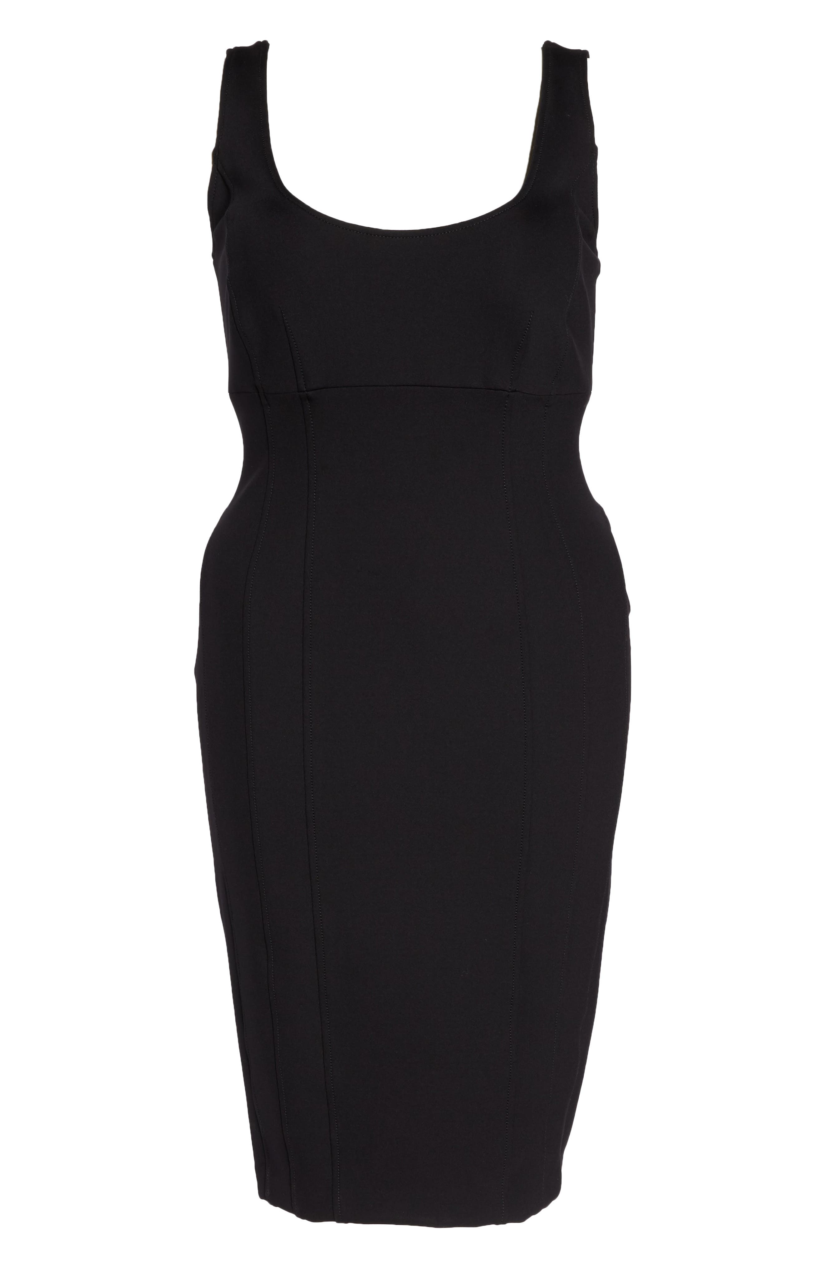 Octopus Jersey Tube Dress,                         Main,                         color, 001
