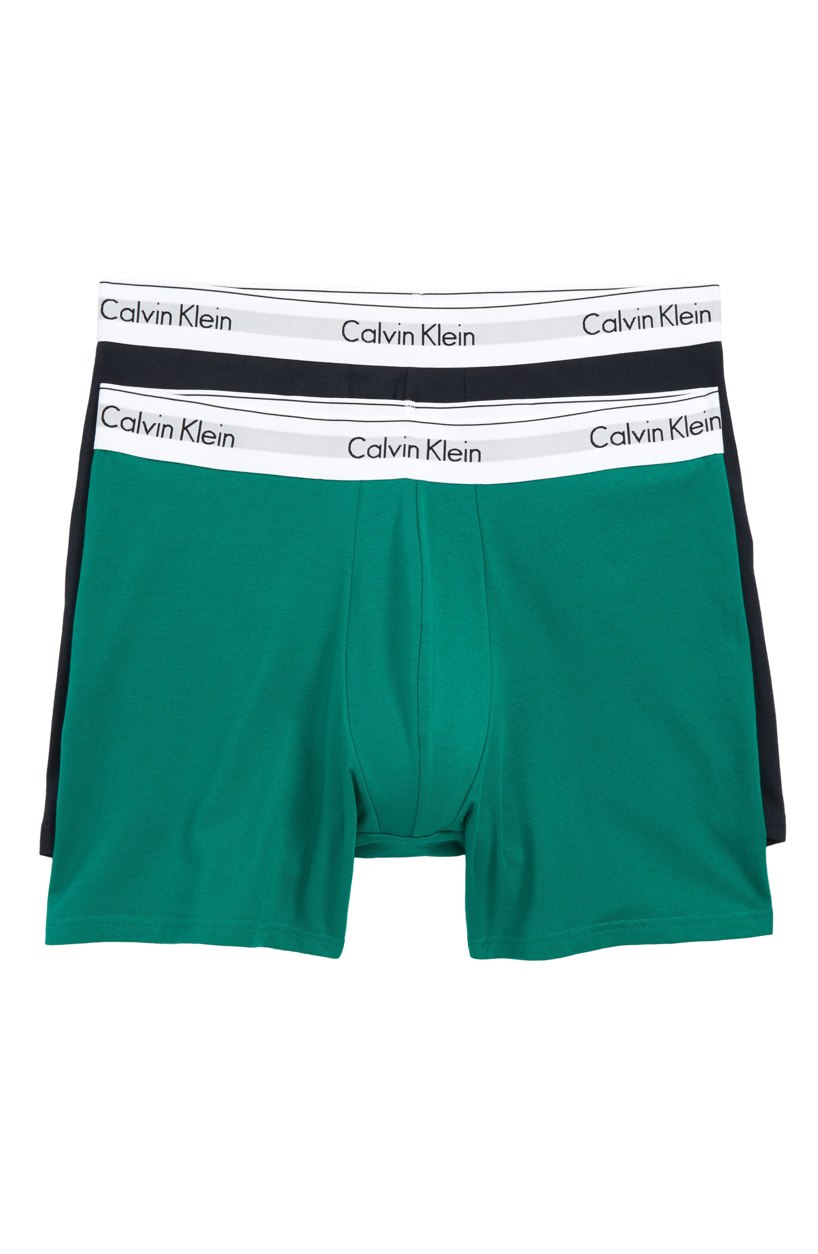 Modern Assorted 2-Pack Stretch Cotton Boxer Briefs,                             Main thumbnail 1, color,                             311