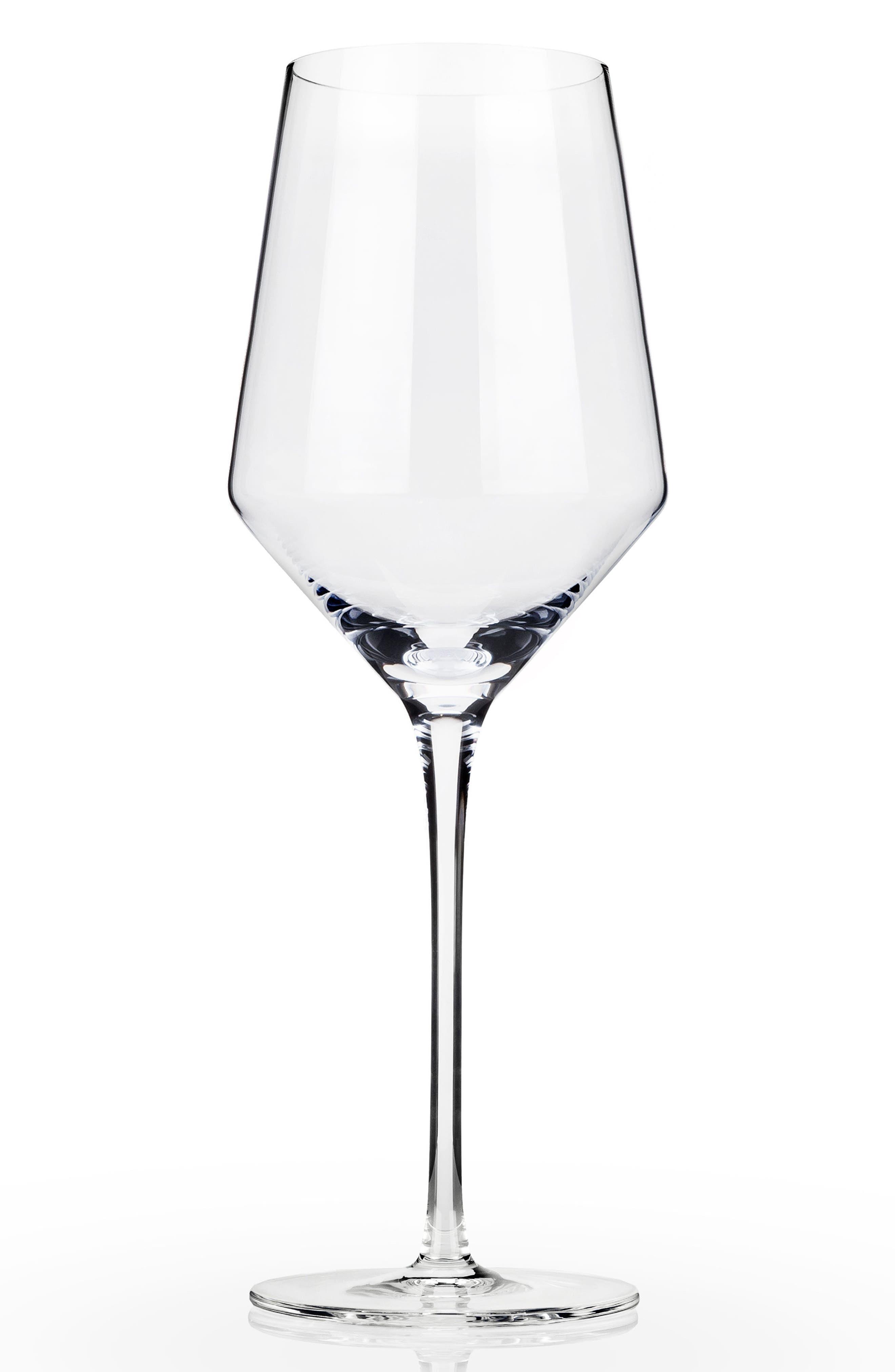Raye Set of 2 Chardonnay Glasses,                         Main,                         color, CLEAR