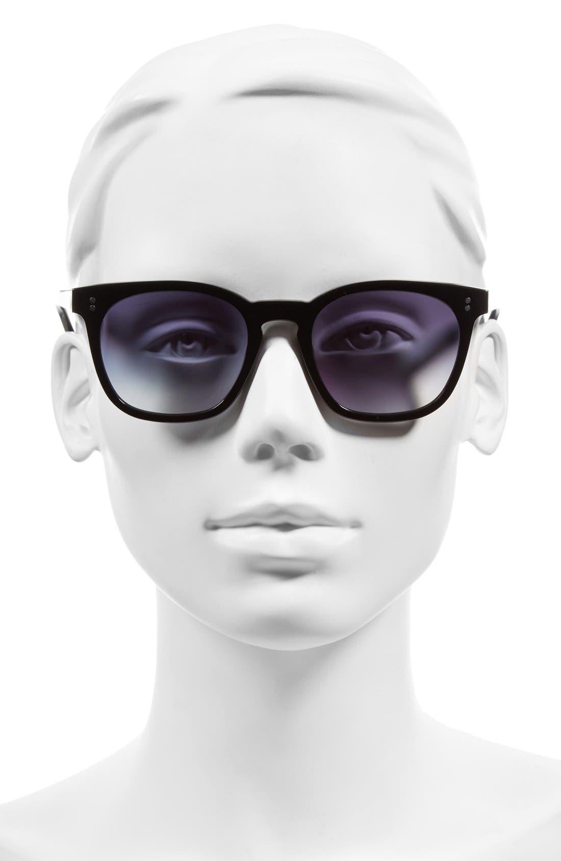 The Cassandra 50mm Sunglasses,                             Alternate thumbnail 2, color,                             001