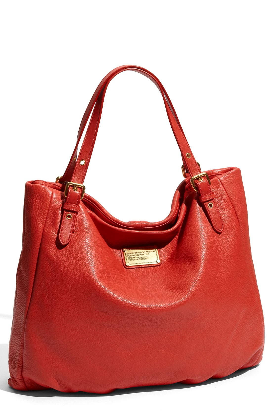 MARC BY MARC JACOBS 'Classic Q - Shopgirl' Leather Tote,                             Main thumbnail 6, color,