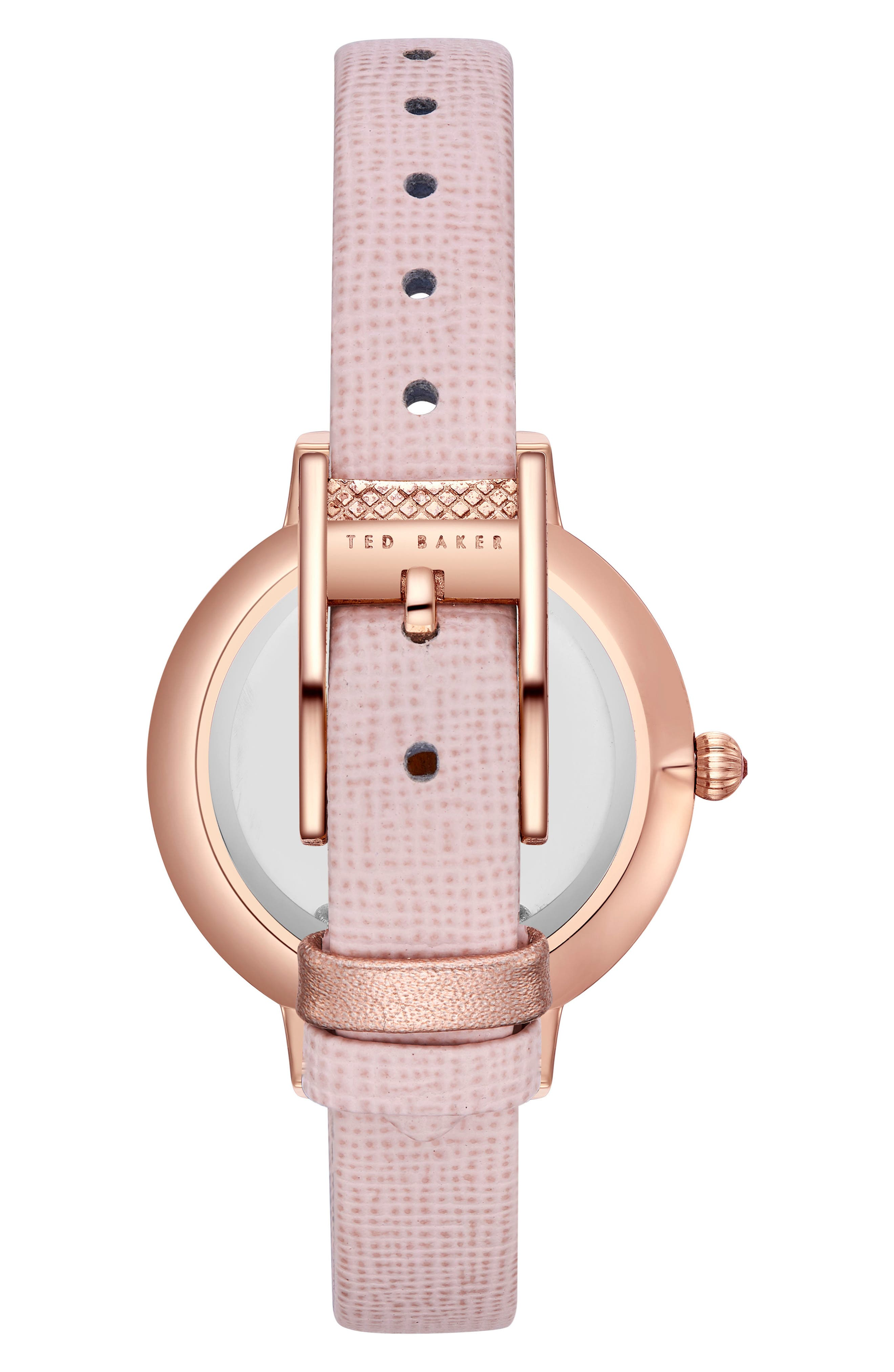 Kate Leather Strap Watch, 36mm,                             Alternate thumbnail 7, color,