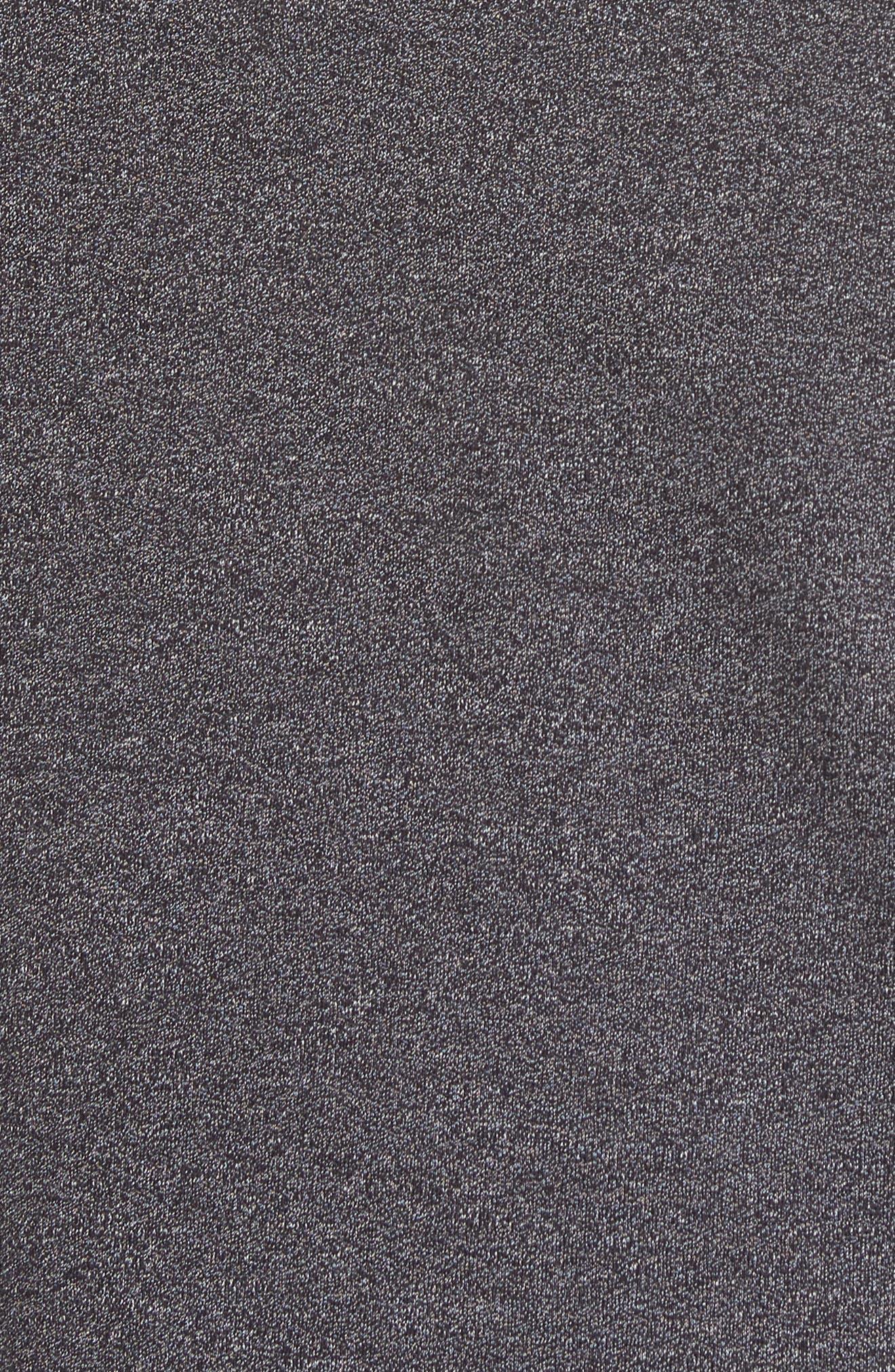 Frankiy Button Collar Polo,                             Alternate thumbnail 5, color,                             001
