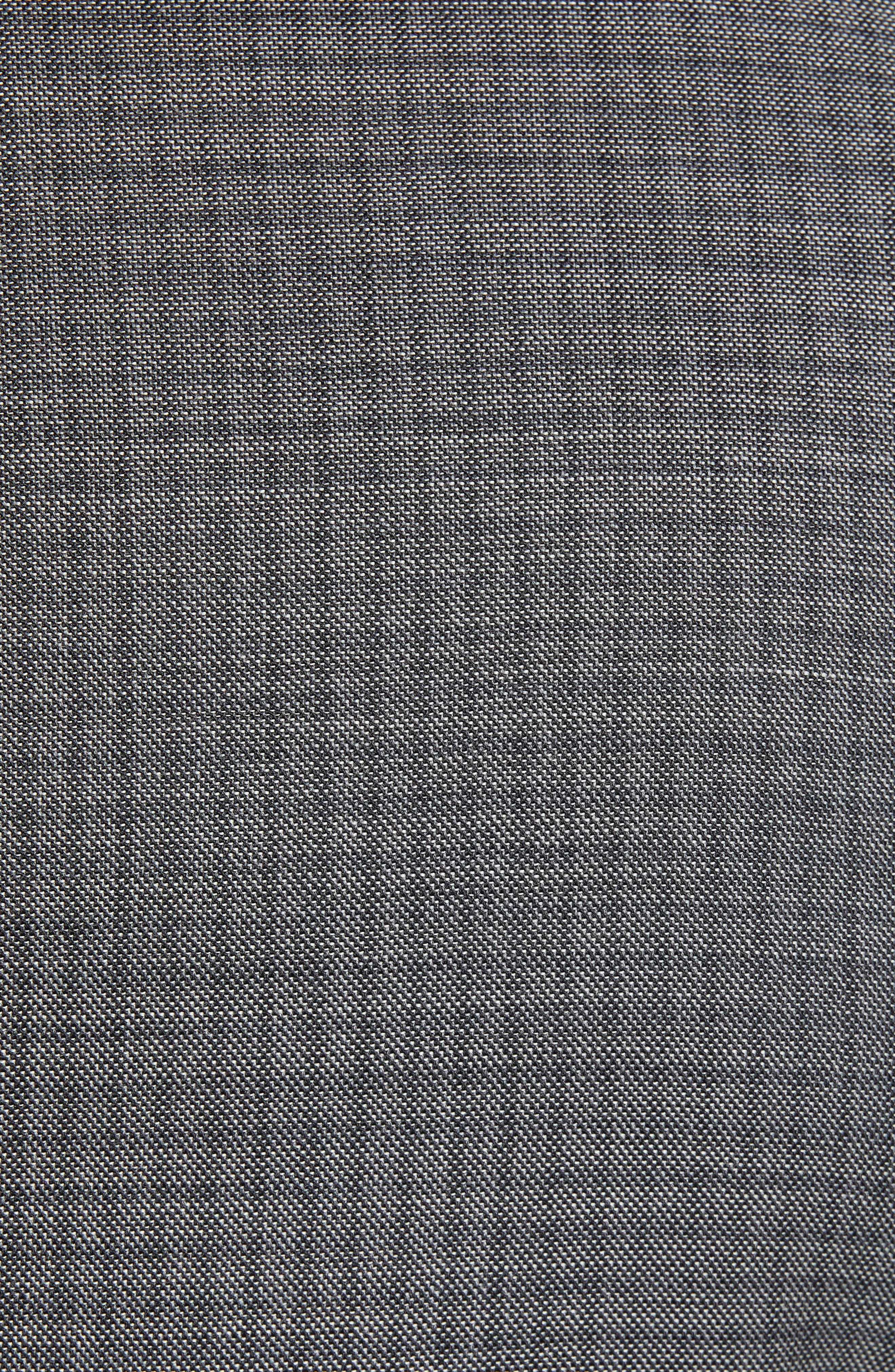 Ryan Classic Fit Stretch Check Wool Suit,                             Alternate thumbnail 7, color,                             CHARCOAL