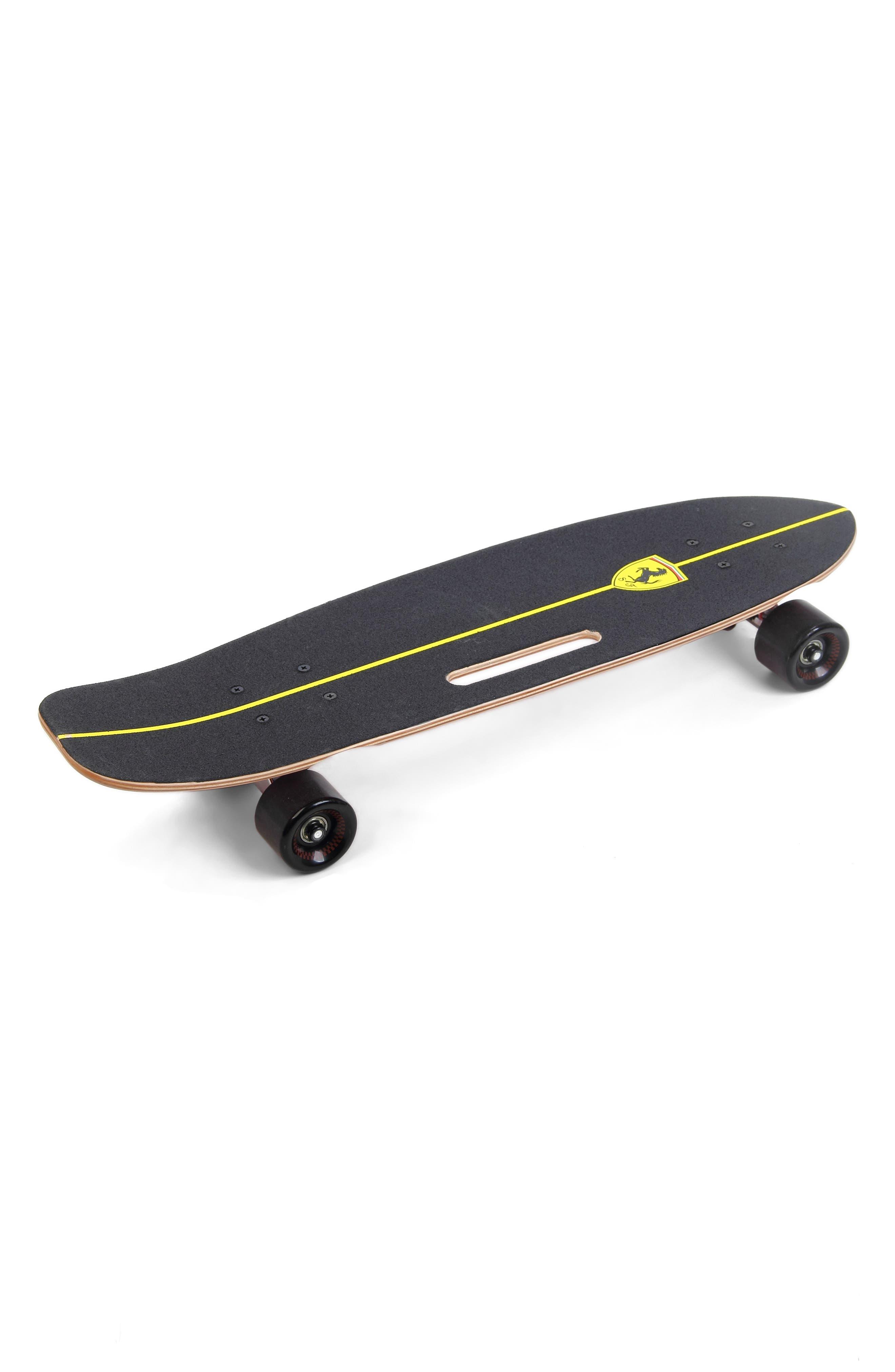 Cruiser Skateboard,                             Main thumbnail 1, color,                             FERRARI BLACK