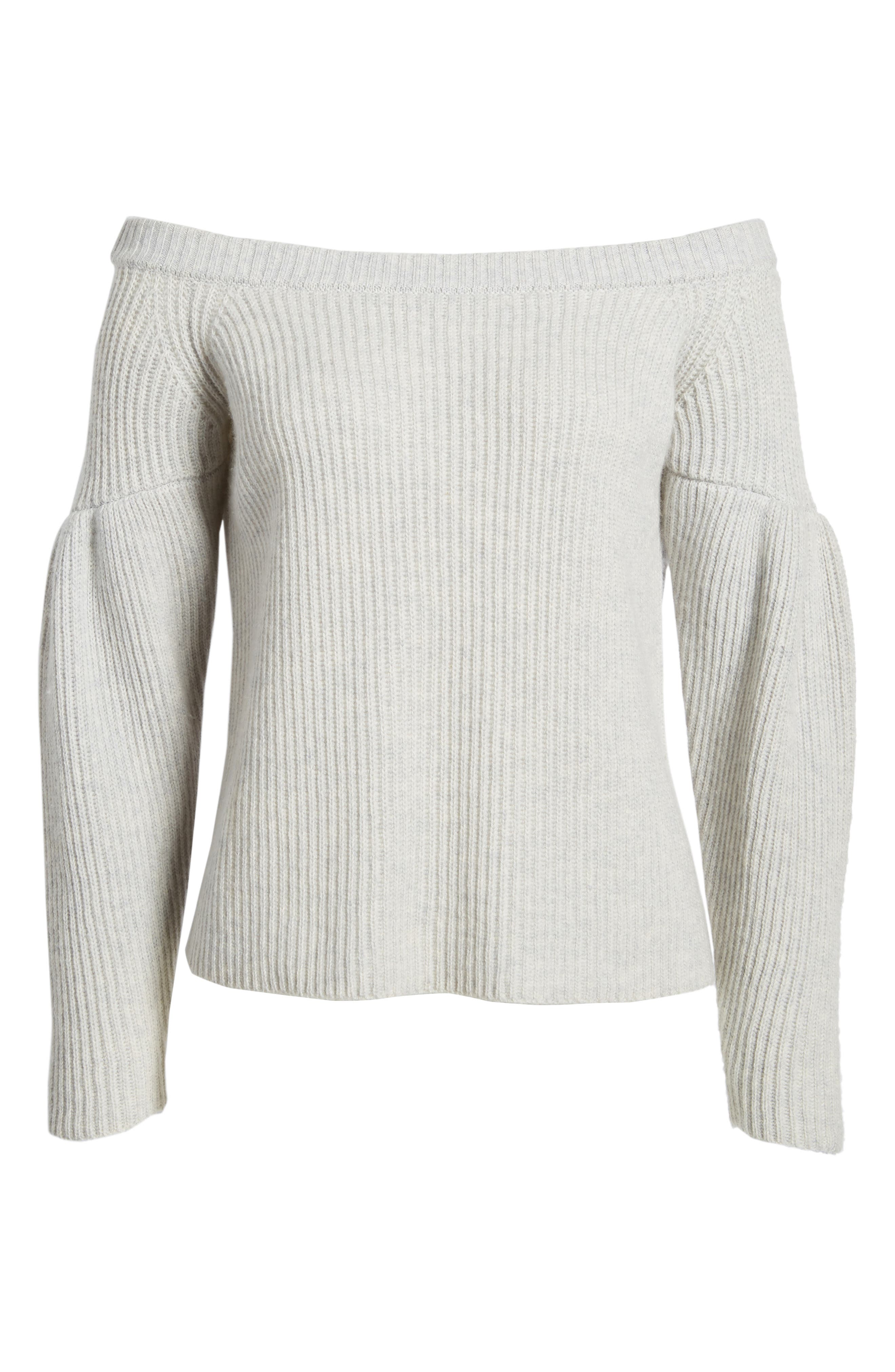Lottie Off the Shoulder Sweater,                             Alternate thumbnail 11, color,