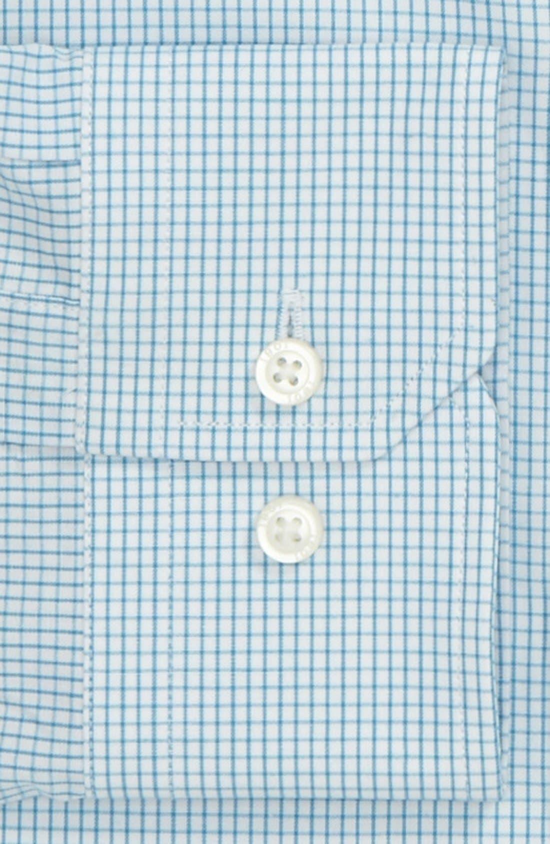 Trim Fit Dress Shirt,                             Alternate thumbnail 2, color,                             450