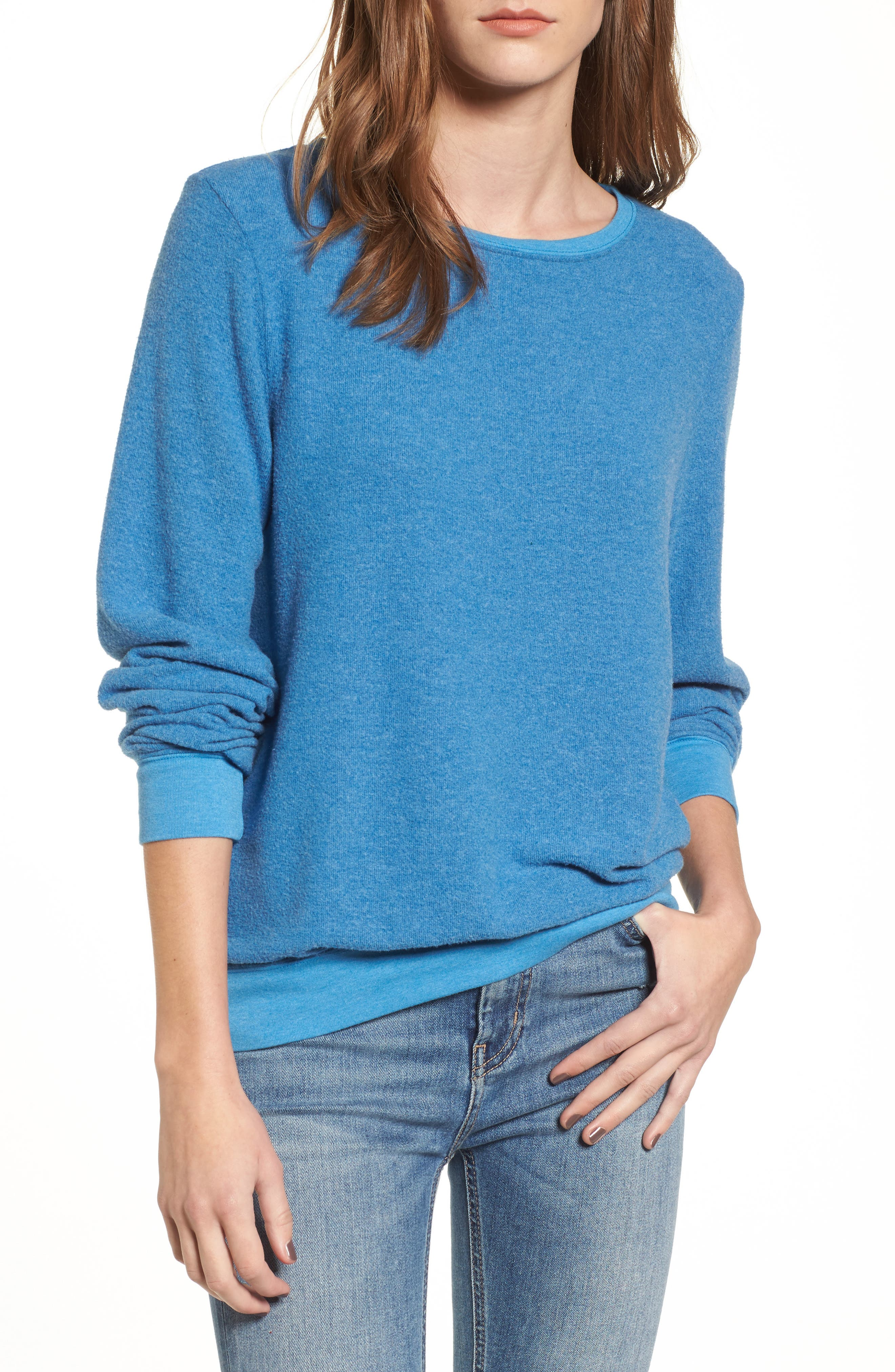 'Baggy Beach Jumper' Pullover,                             Main thumbnail 8, color,
