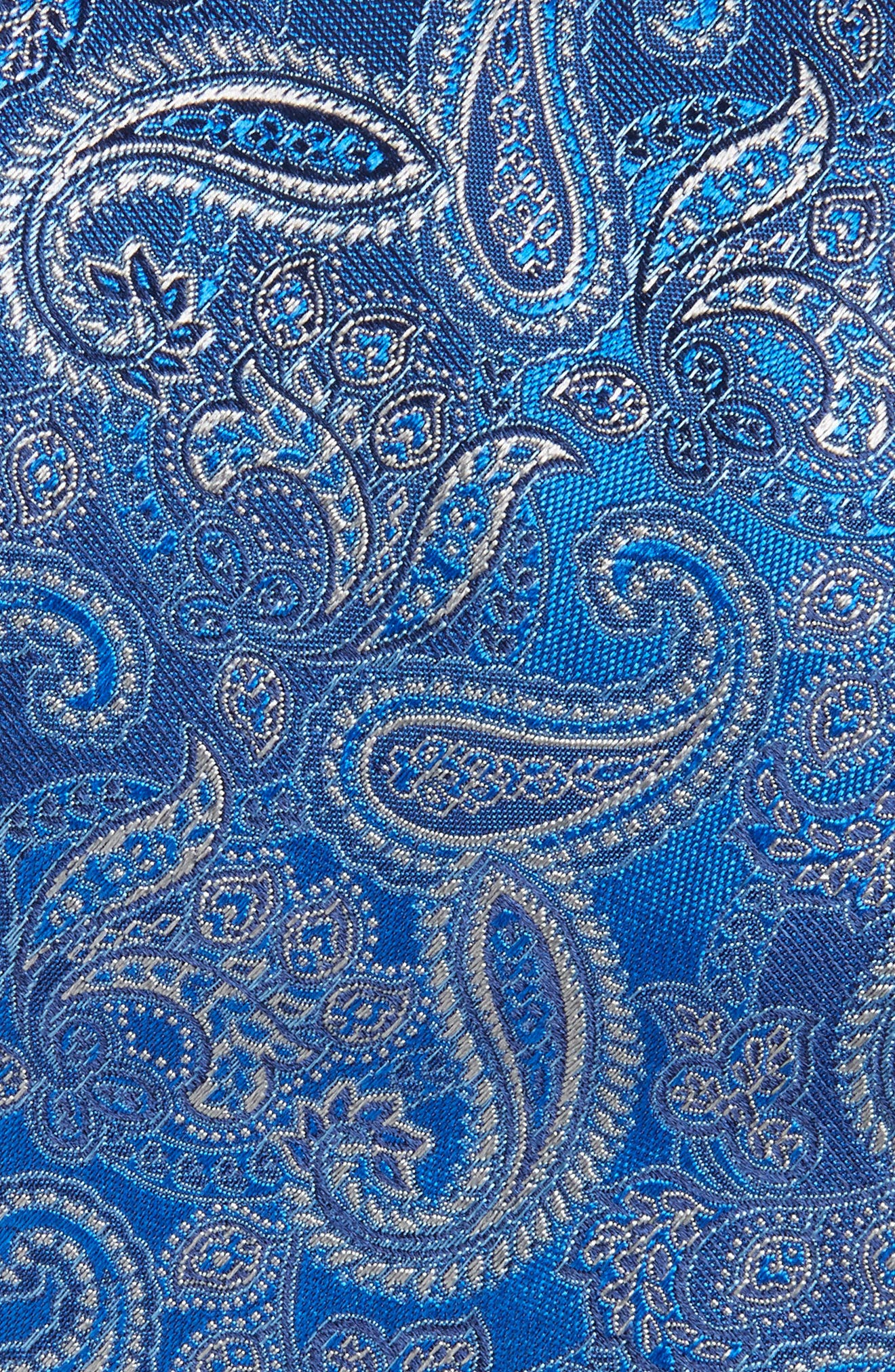Paisley Silk Tie,                             Alternate thumbnail 2, color,                             400