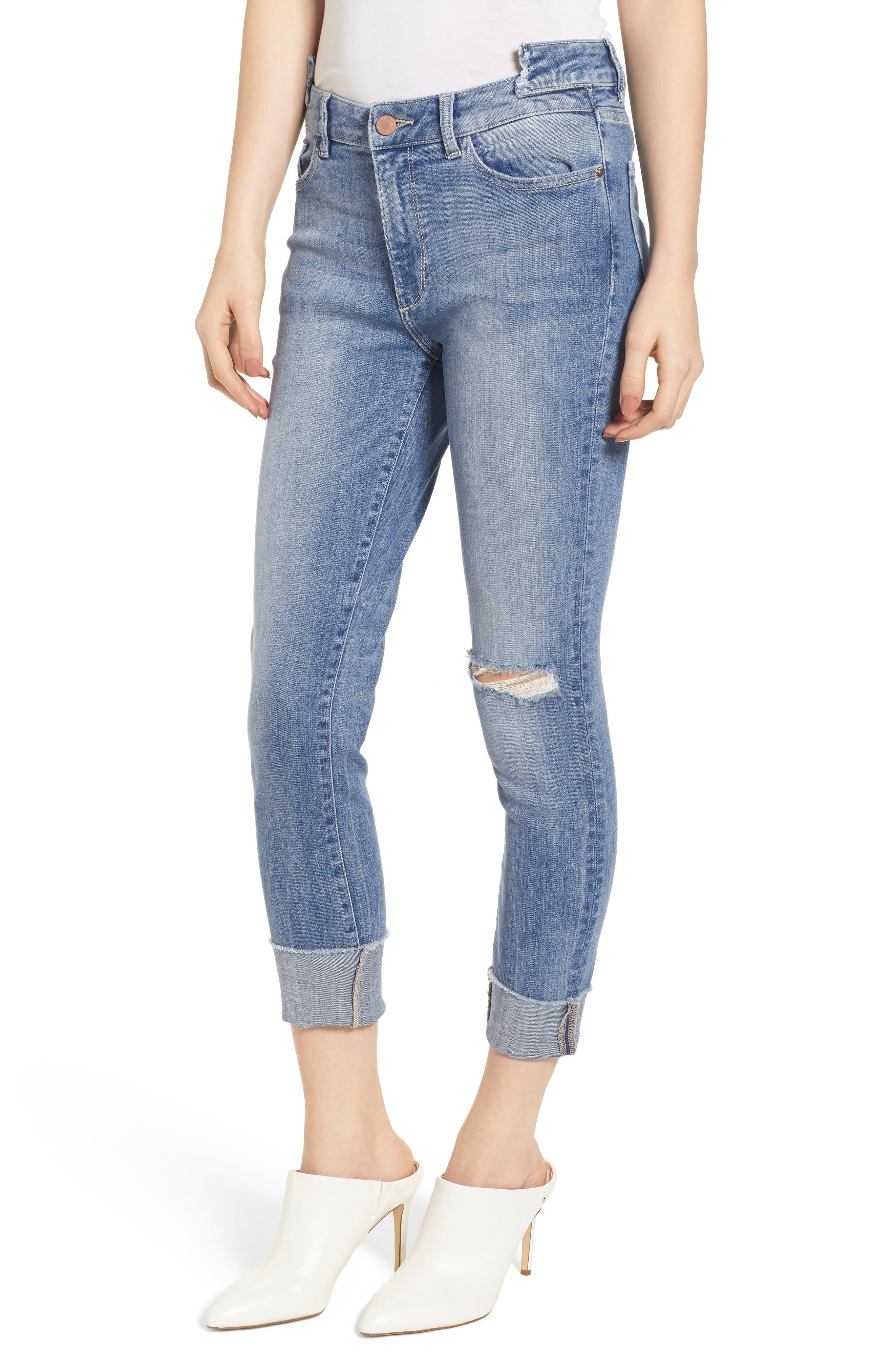 Farrow Instaslim High Waist Ankle Skinny Jeans,                             Main thumbnail 1, color,
